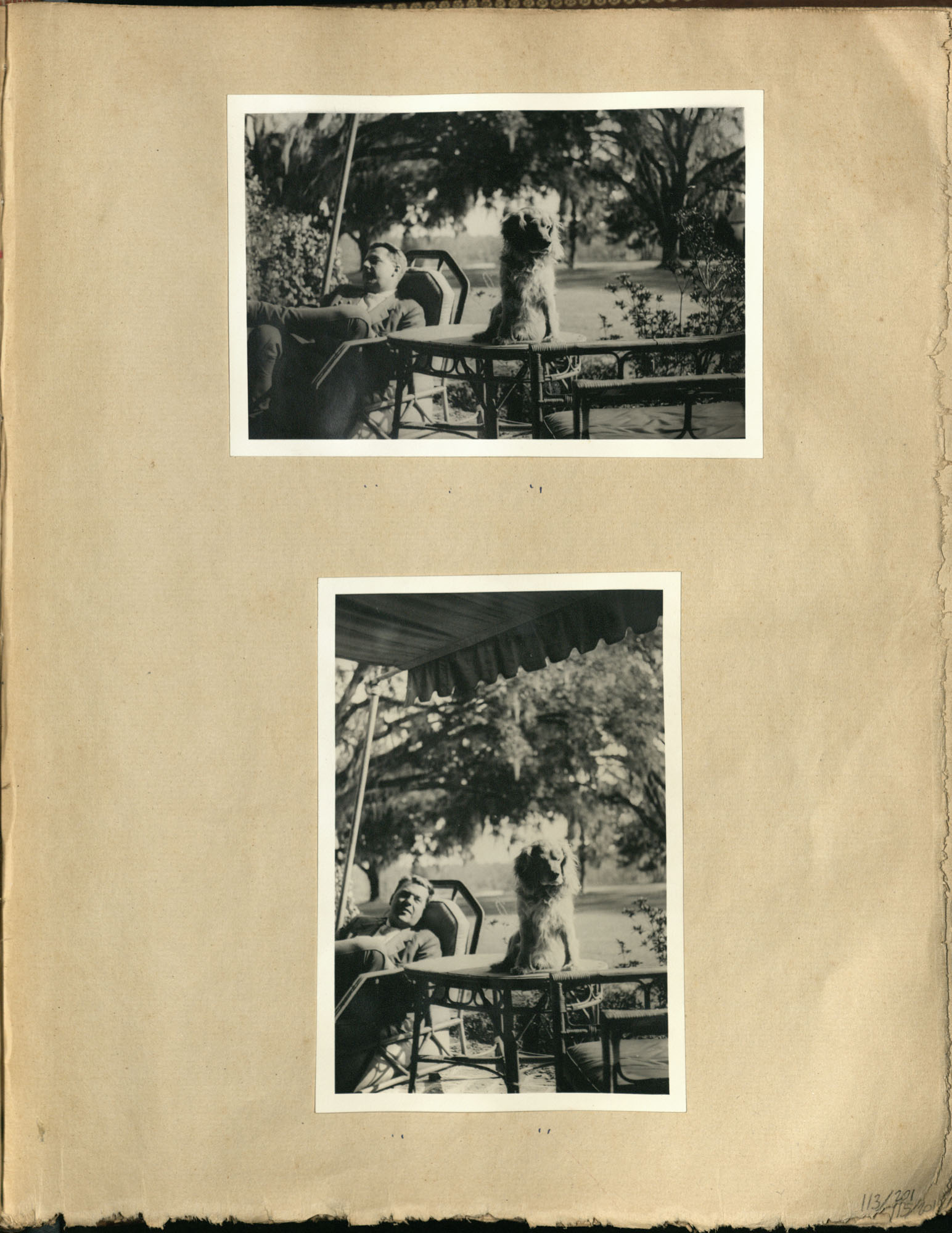 Early Medway and travels album, 1929-1937, page 113