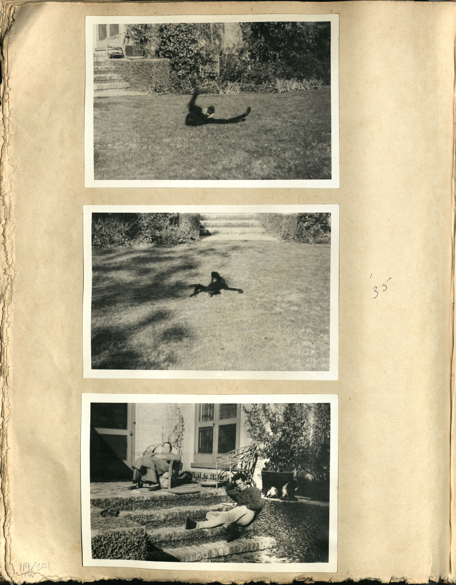 Early Medway and travels album, 1929-1937, page 114