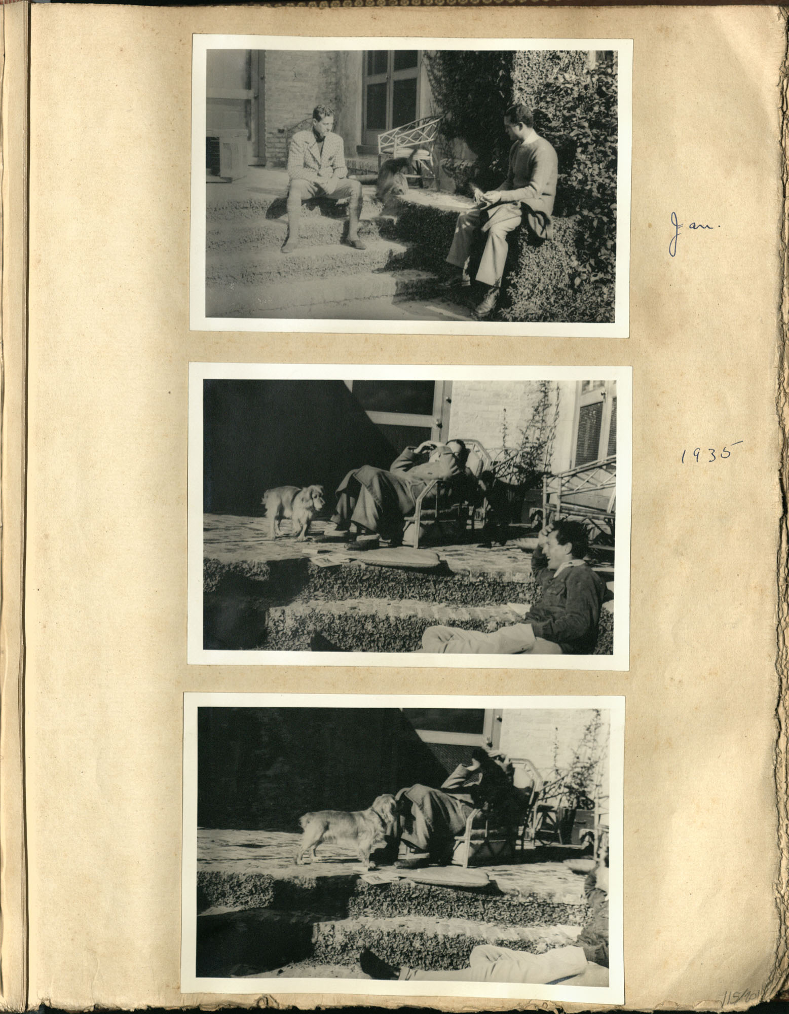 Early Medway and travels album, 1929-1937, page 115