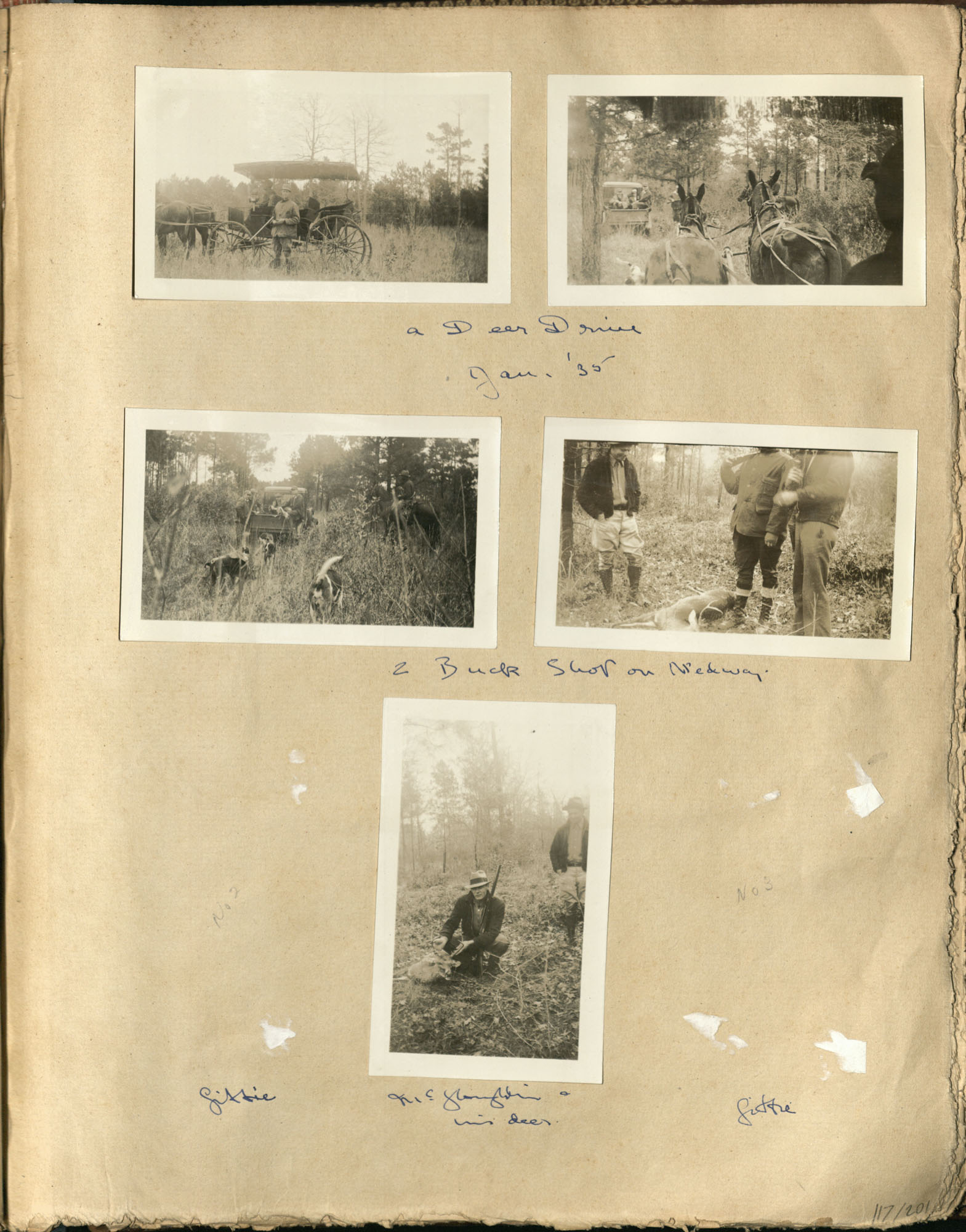 Early Medway and travels album, 1929-1937, page 117