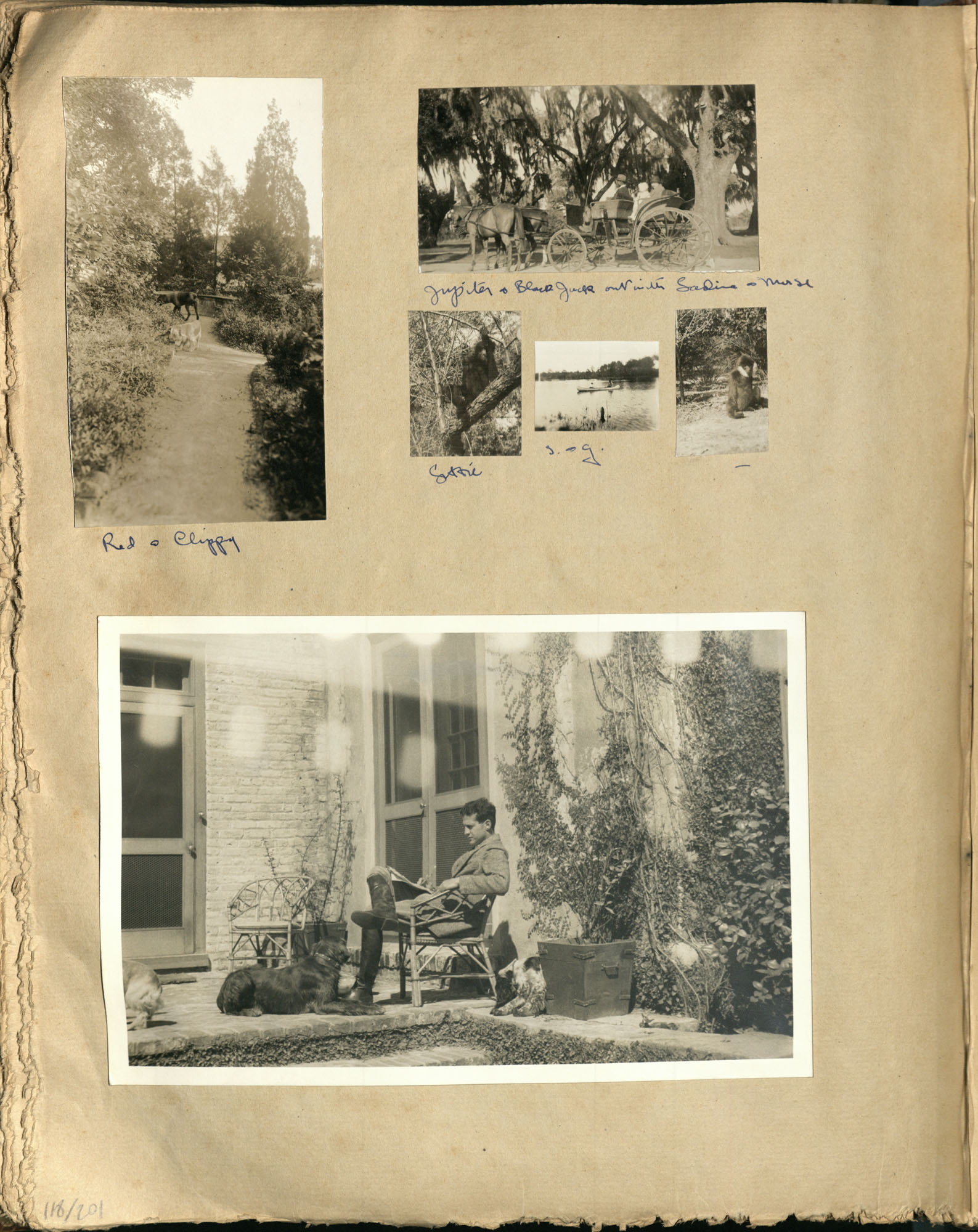 Early Medway and travels album, 1929-1937, page 118