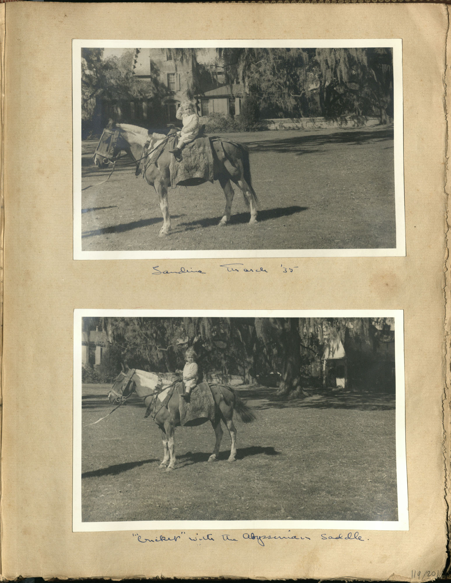 Early Medway and travels album, 1929-1937, page 119