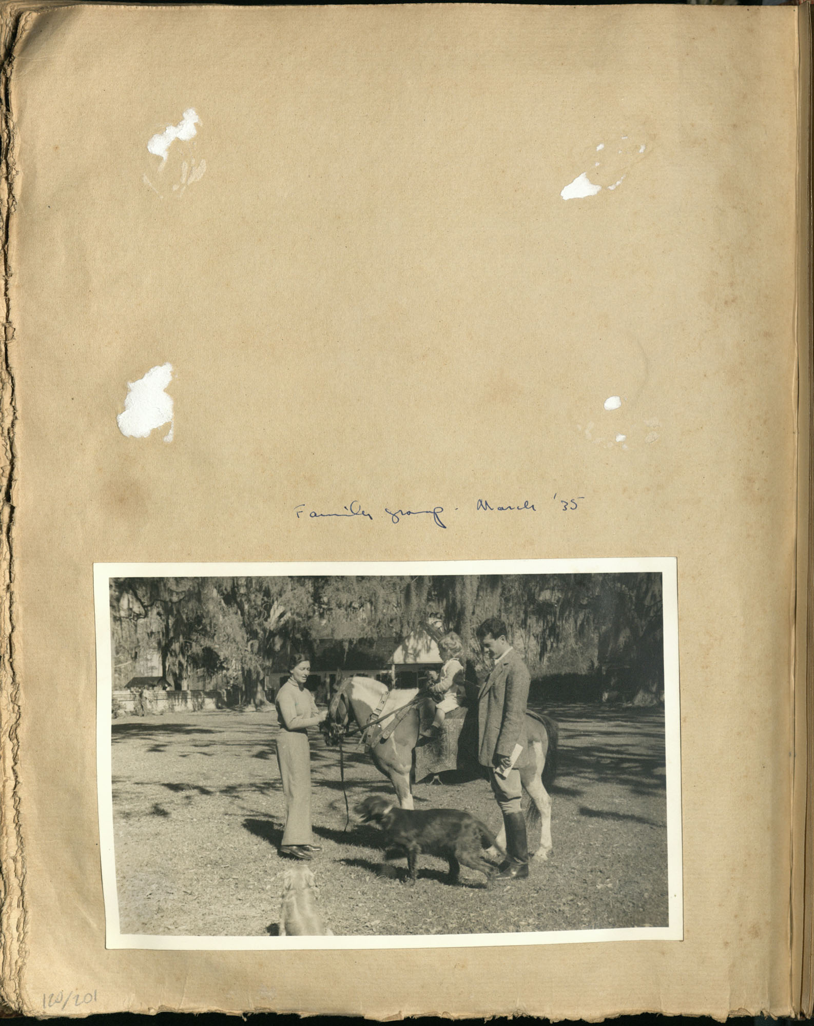 Early Medway and travels album, 1929-1937, page 120