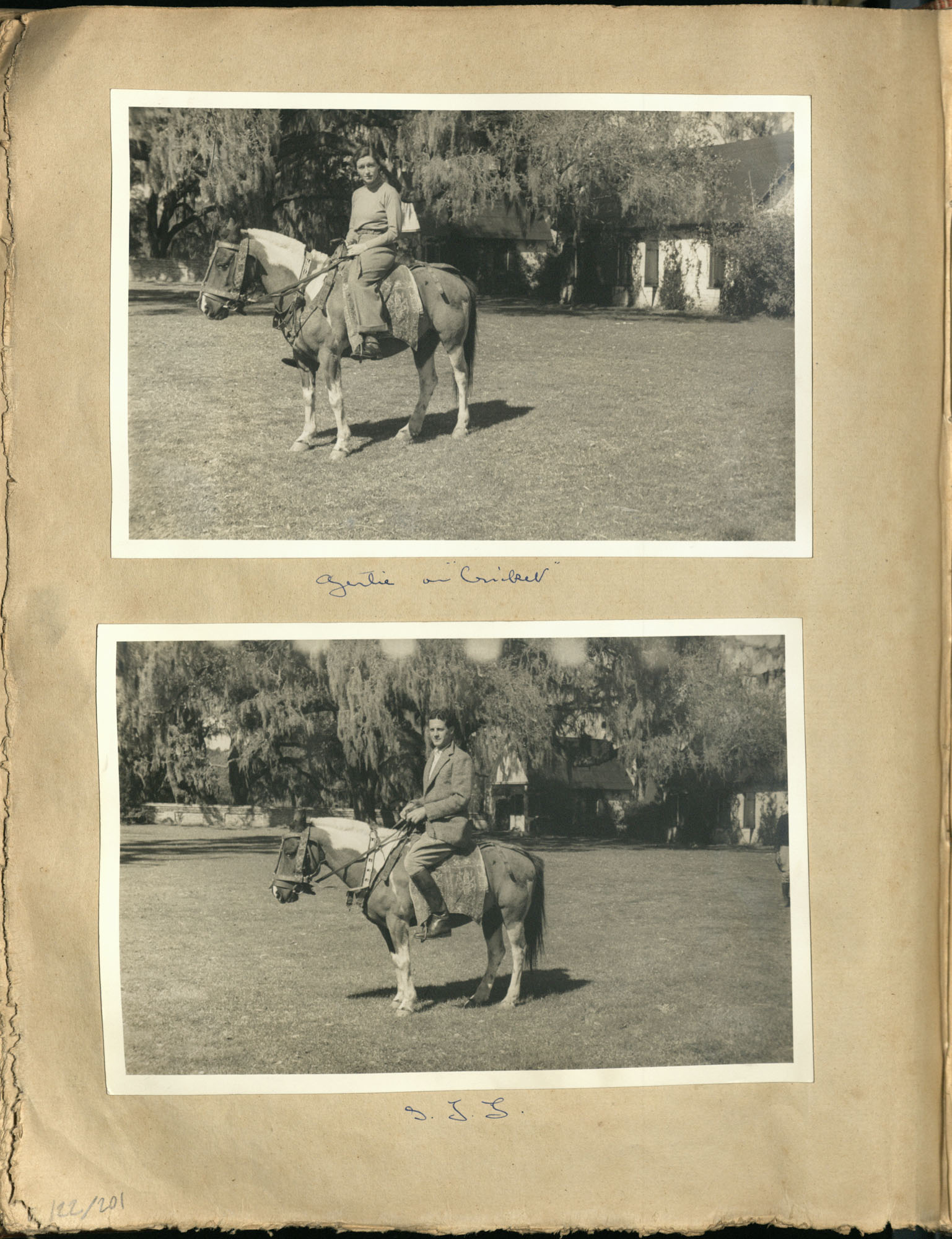 Early Medway and travels album, 1929-1937, page 122