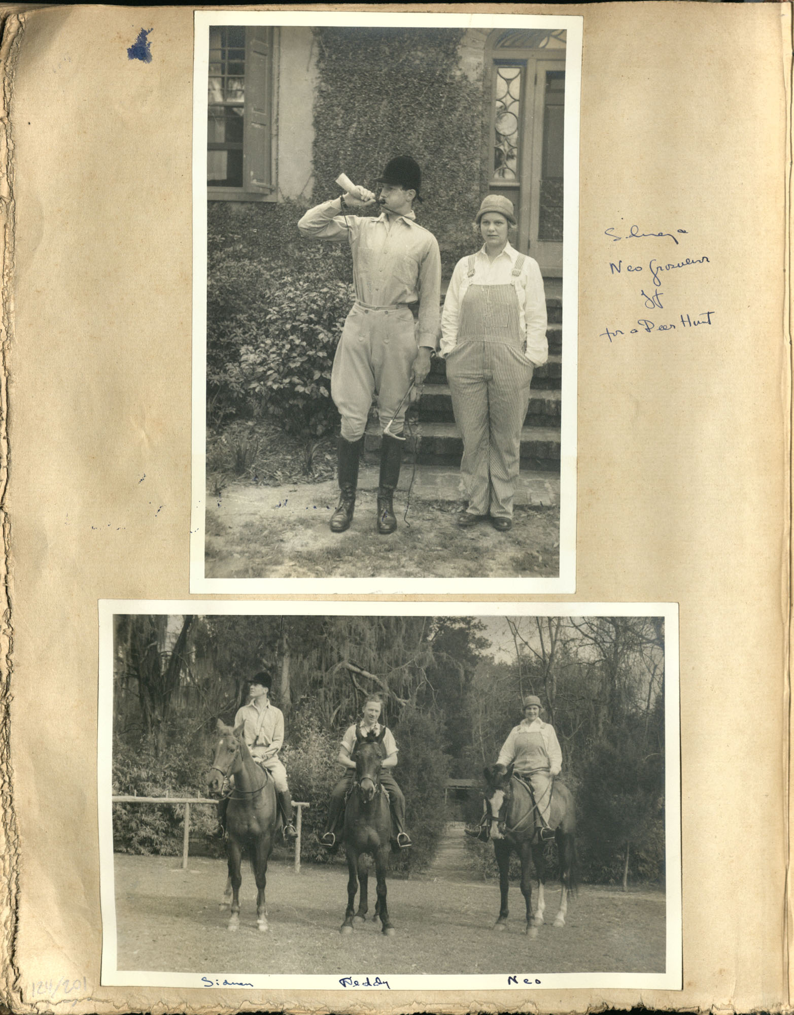 Early Medway and travels album, 1929-1937, page 124