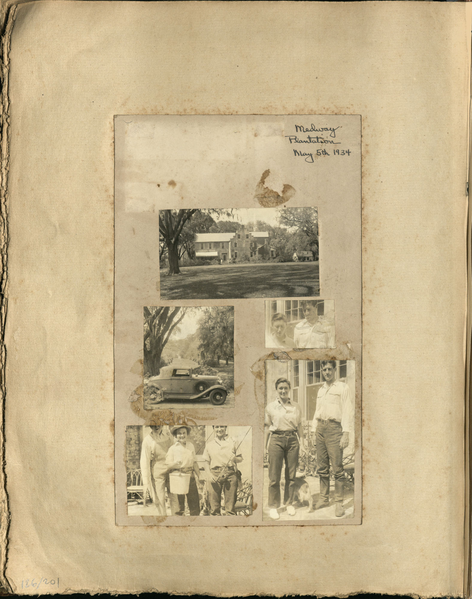 Early Medway and travels album, 1929-1937, page 126