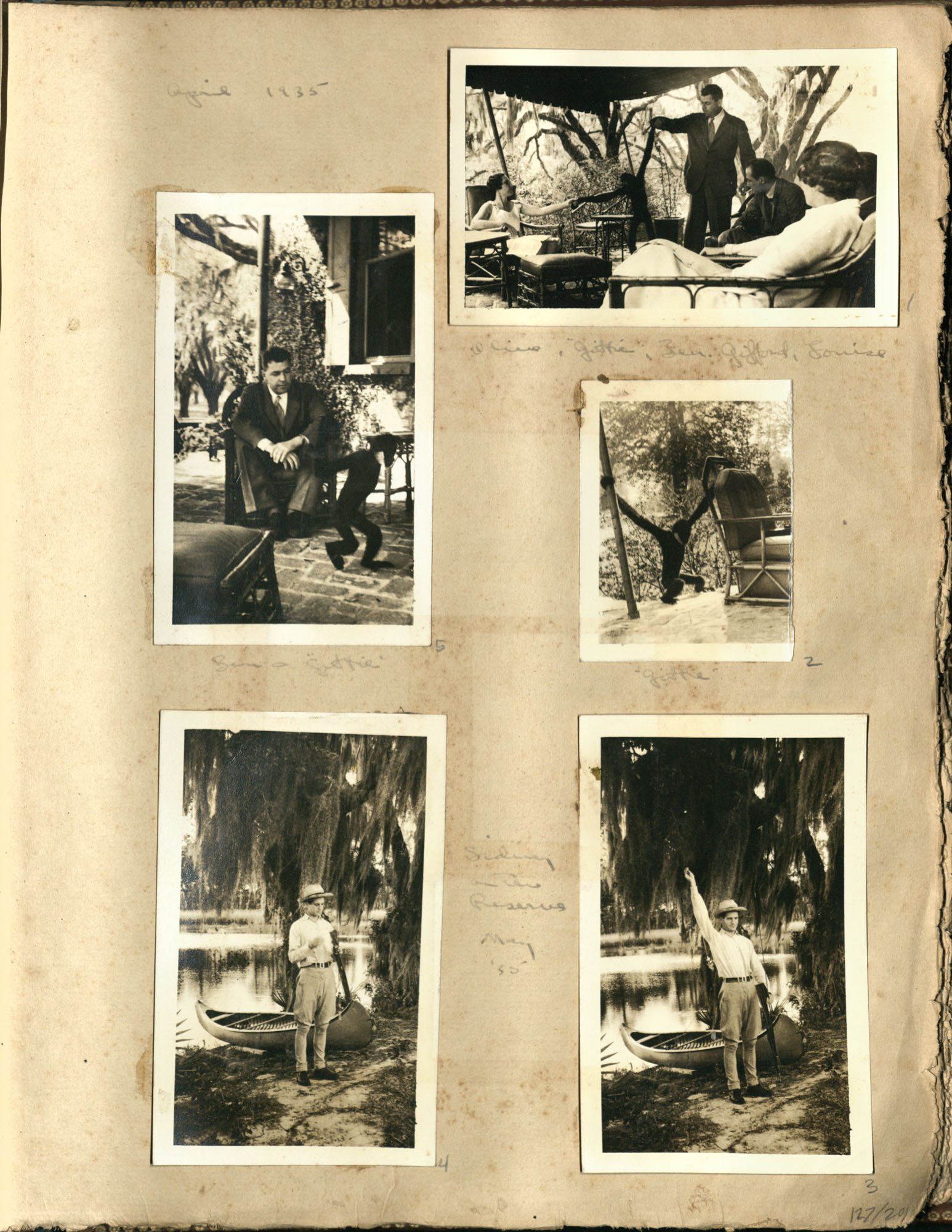 Early Medway and travels album, 1929-1937, page 127
