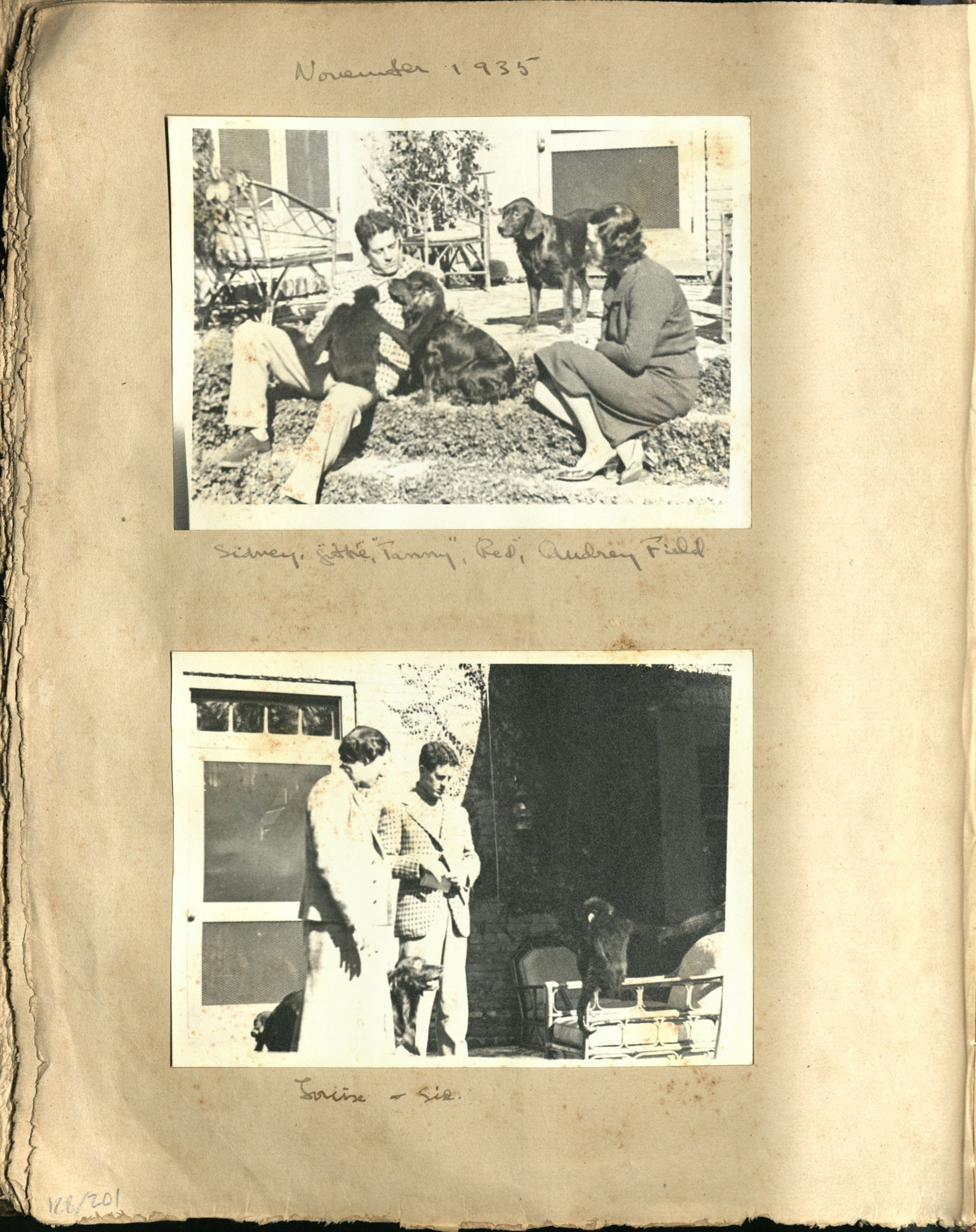 Early Medway and travels album, 1929-1937, page 128