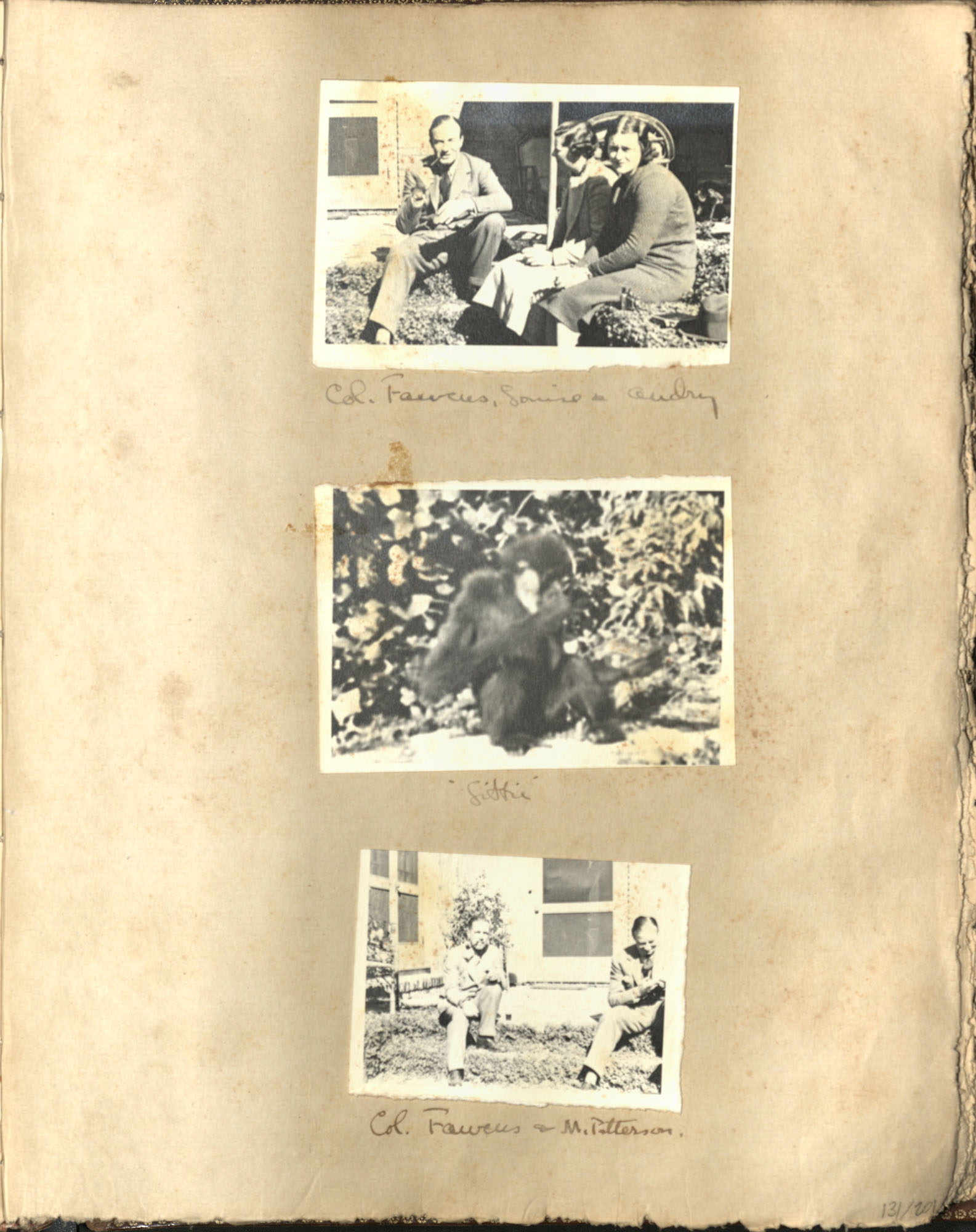 Early Medway and travels album, 1929-1937, page 131