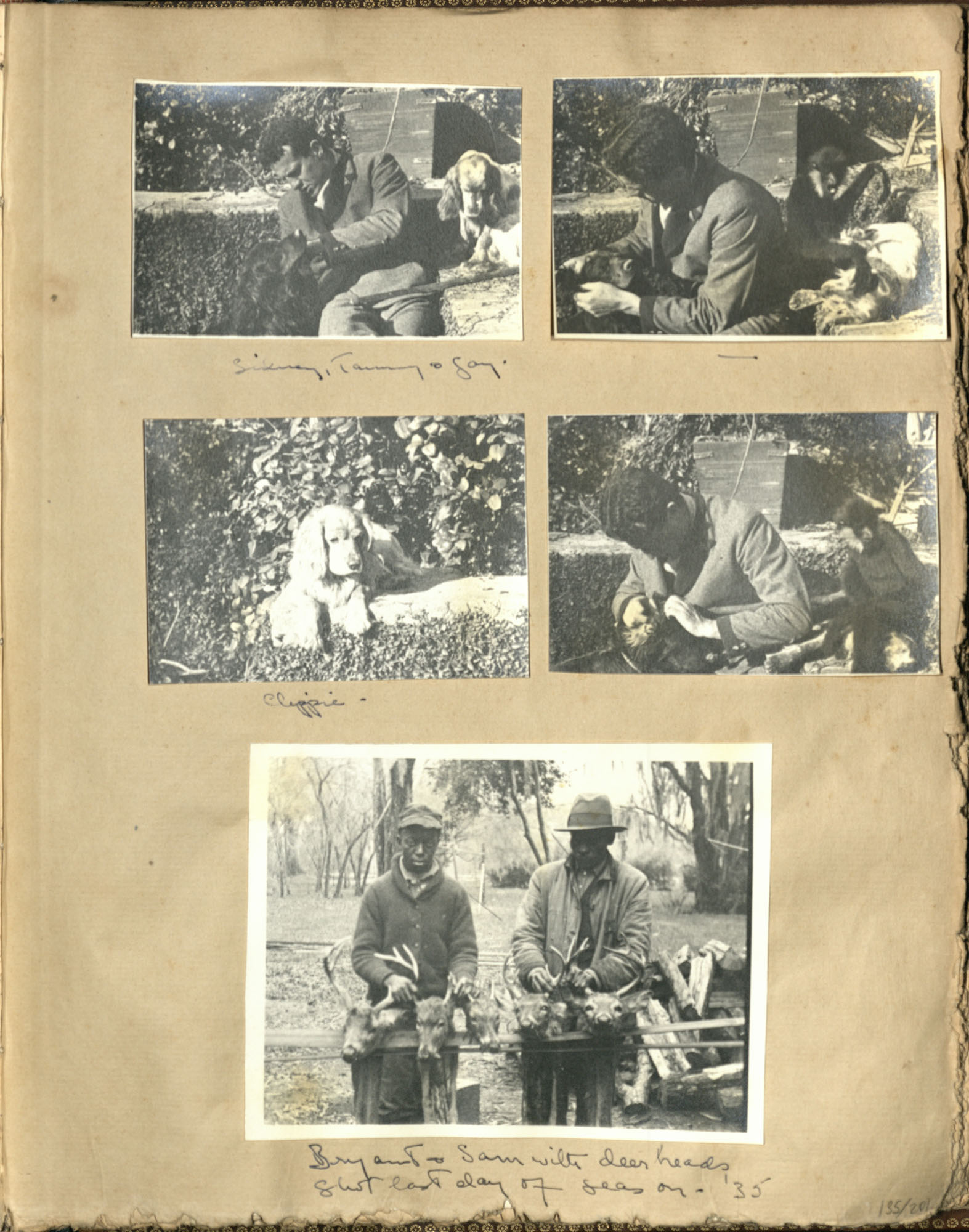 Early Medway and travels album, 1929-1937, page 135