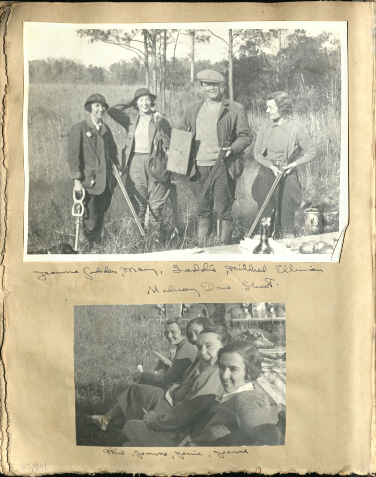 Early Medway and travels album, 1929-1937, page 142