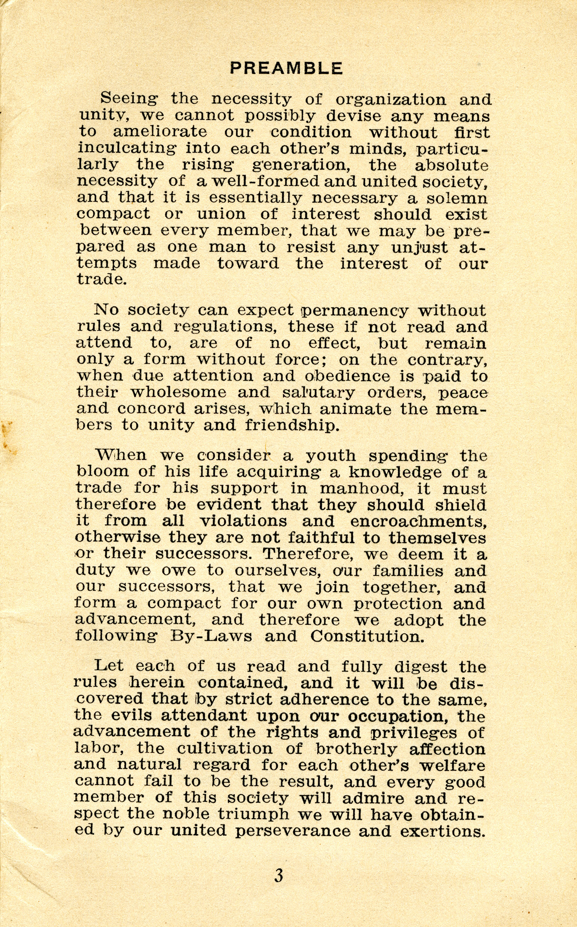 Constitution, by-laws, working code and rules of order, Page 2