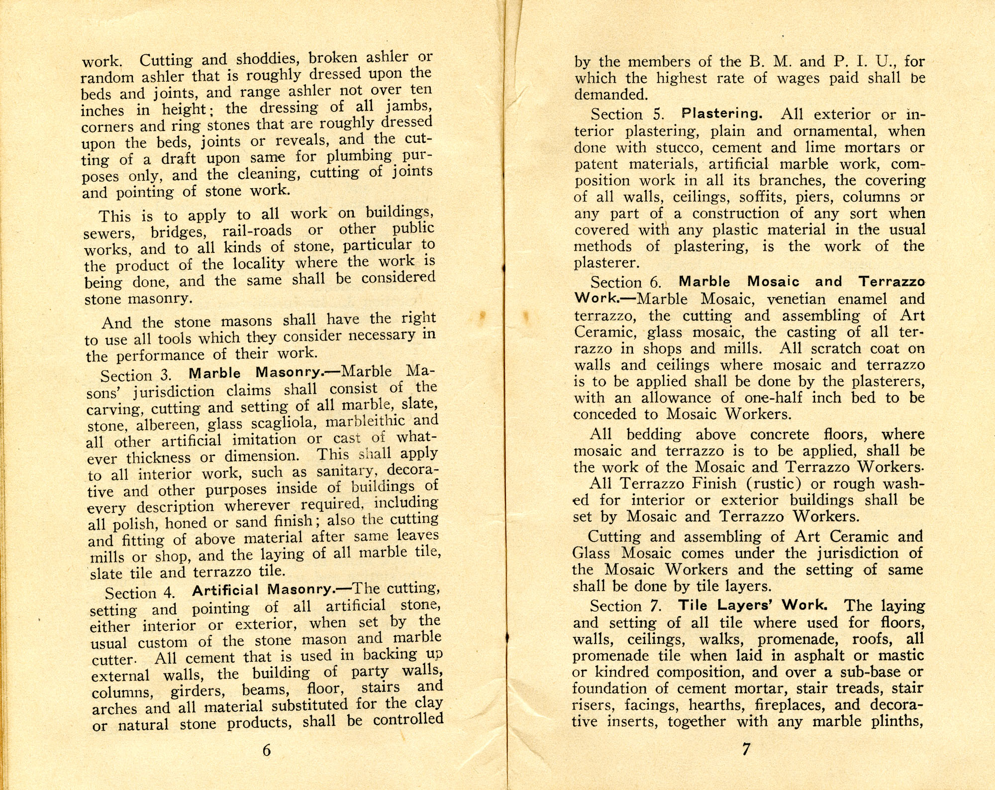 Constitution, by-laws, working code and rules of order, Page 4