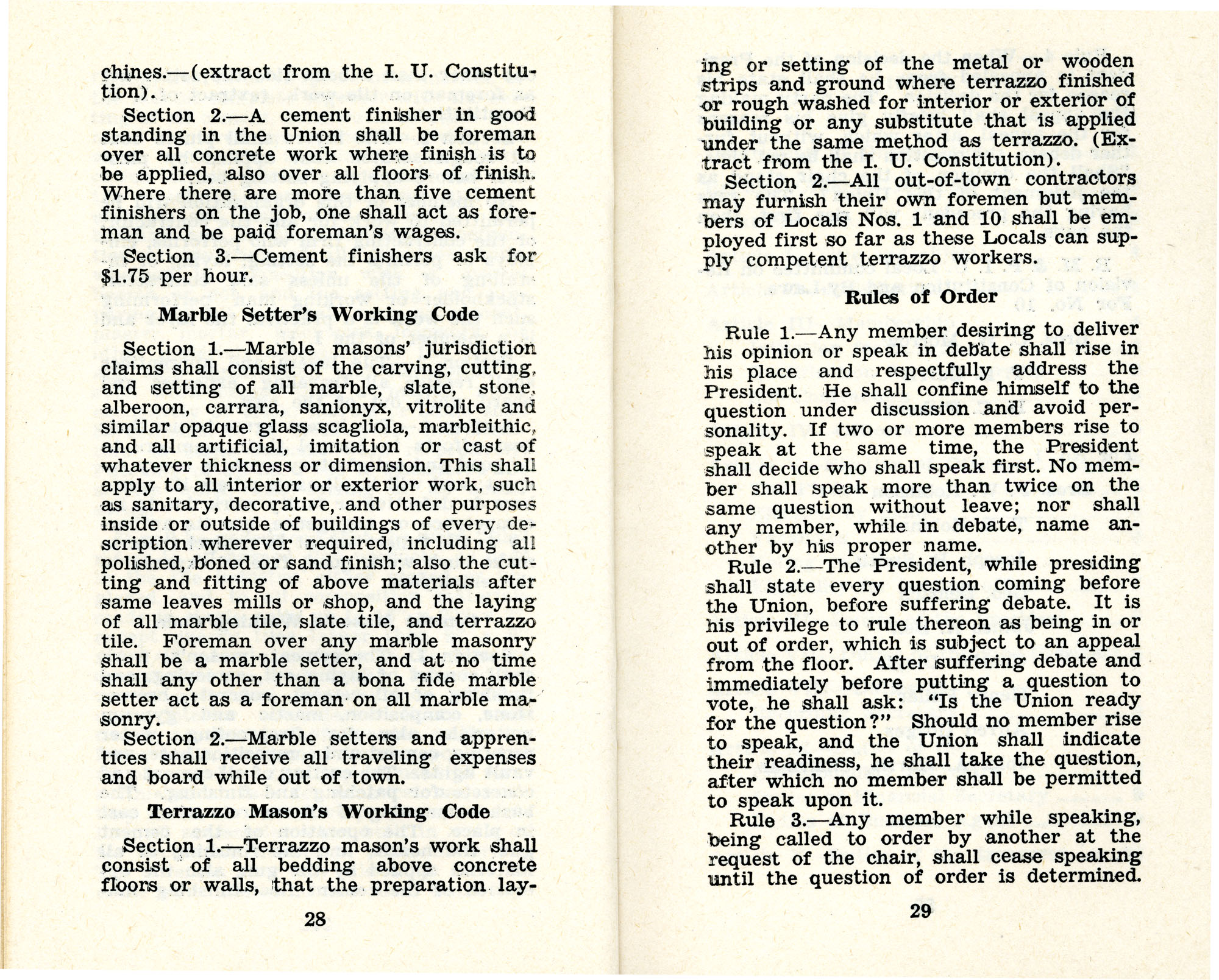 Constitution and by-laws of unions no.1 and 10, Page 15