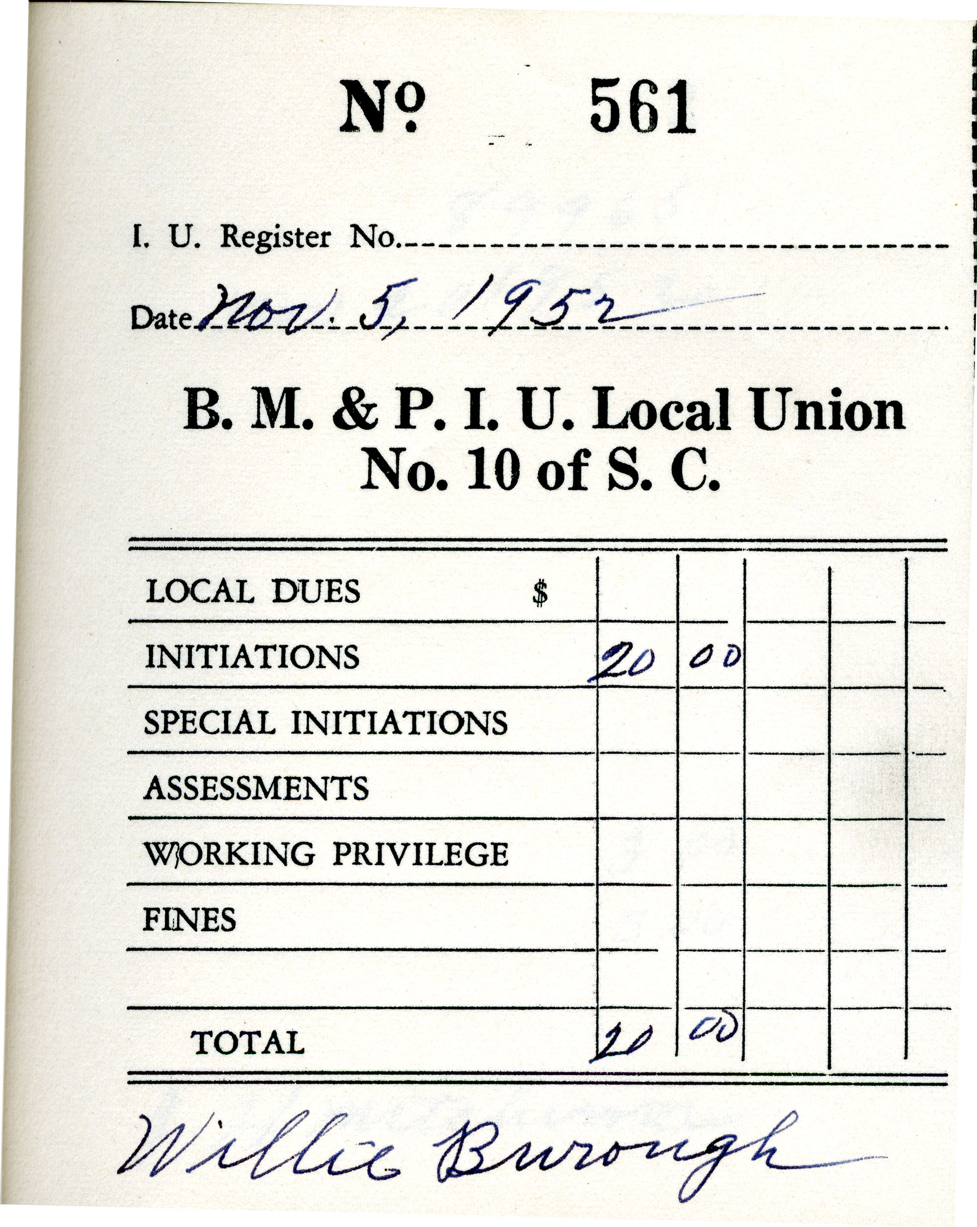 Receipt Book 1, Page 11