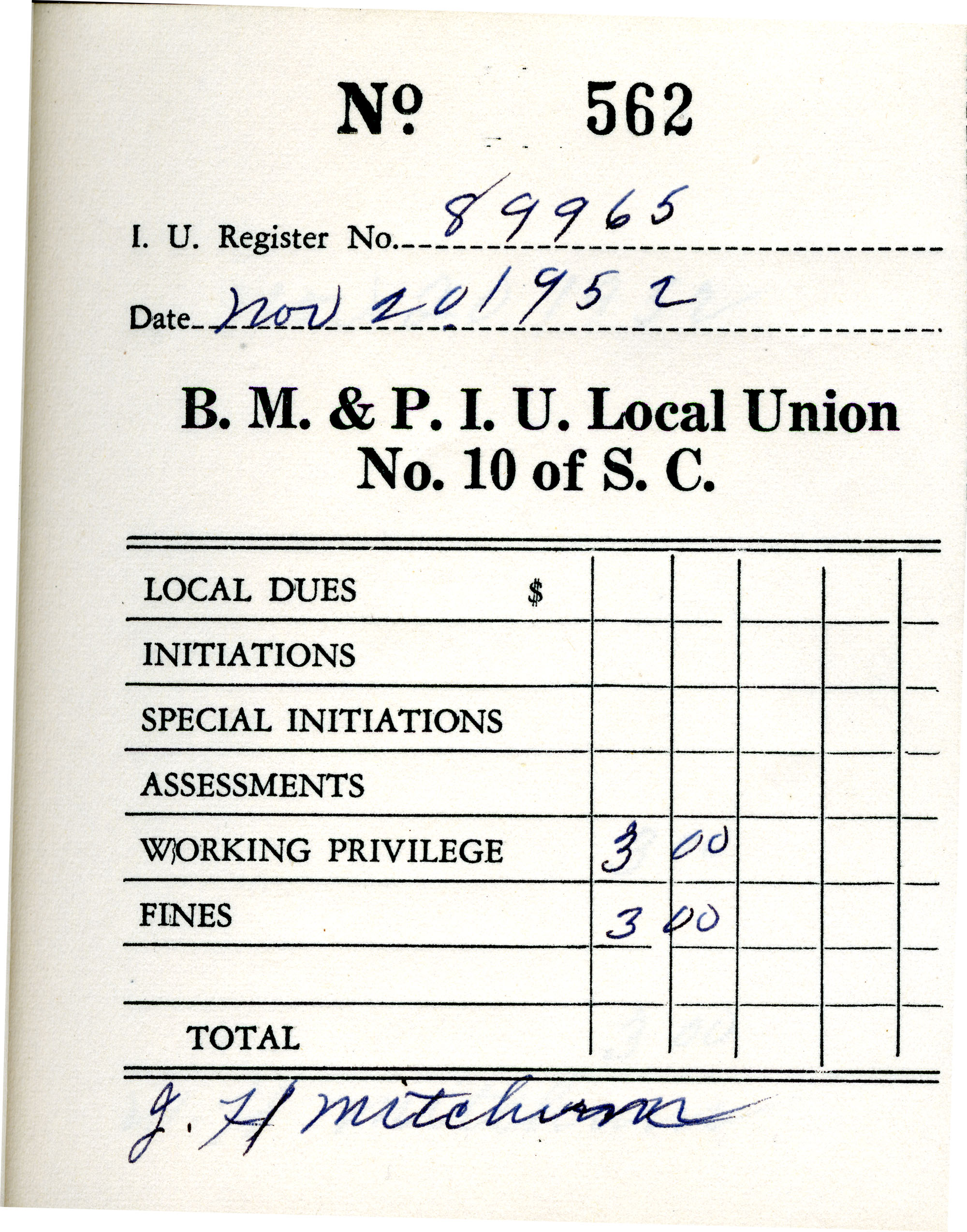 Receipt Book 1, Page 12