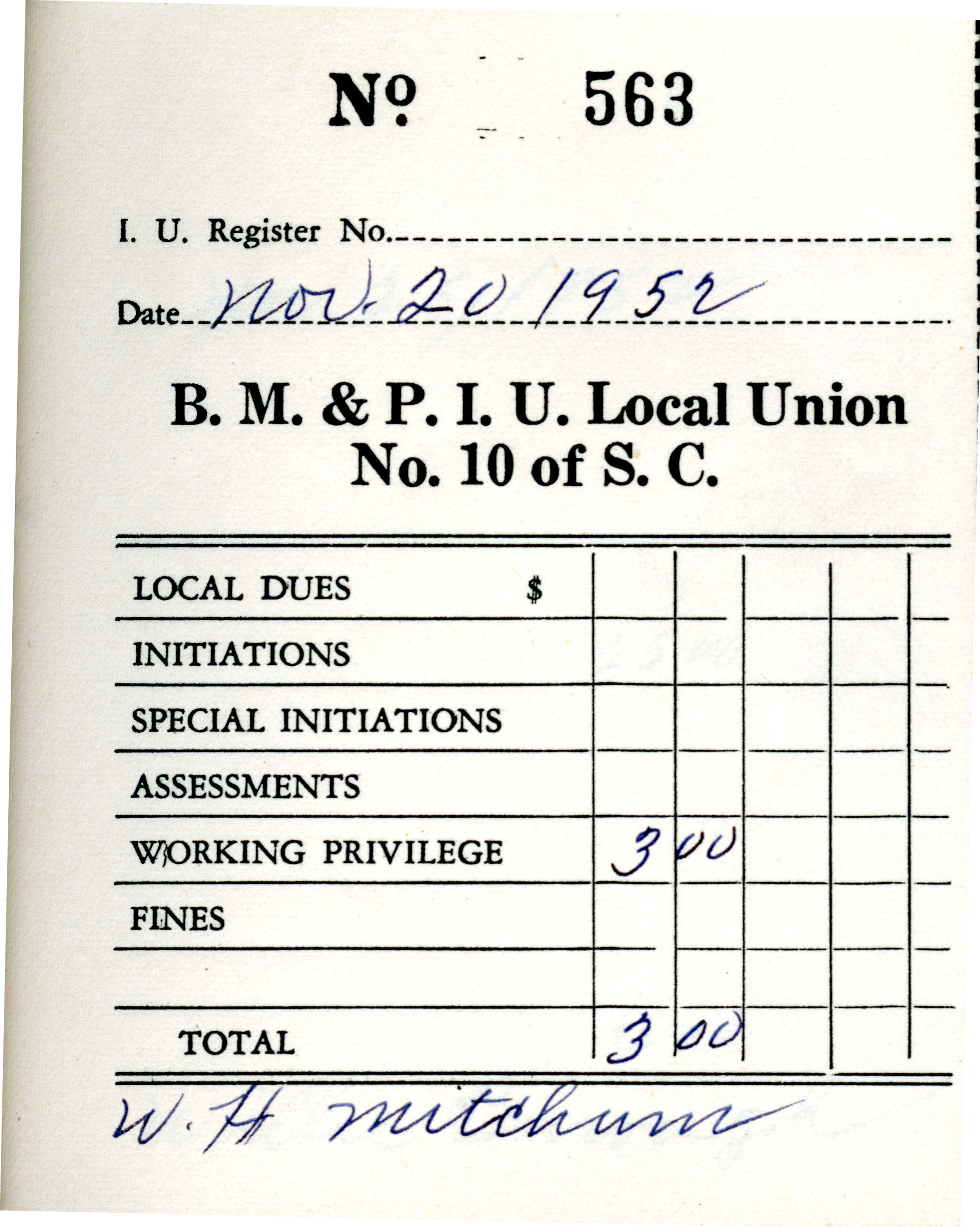 Receipt Book 1, Page 13