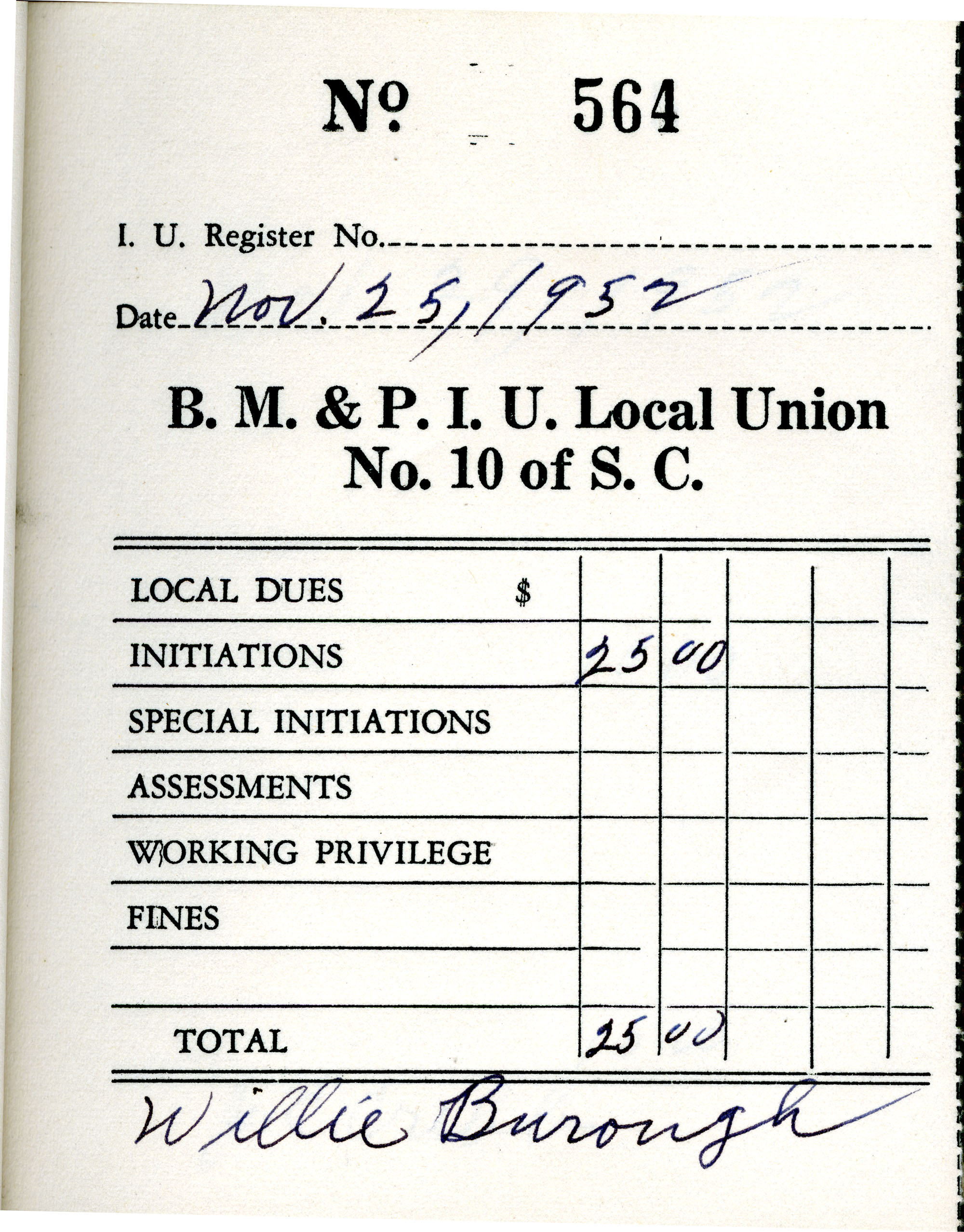 Receipt Book 1, Page 14