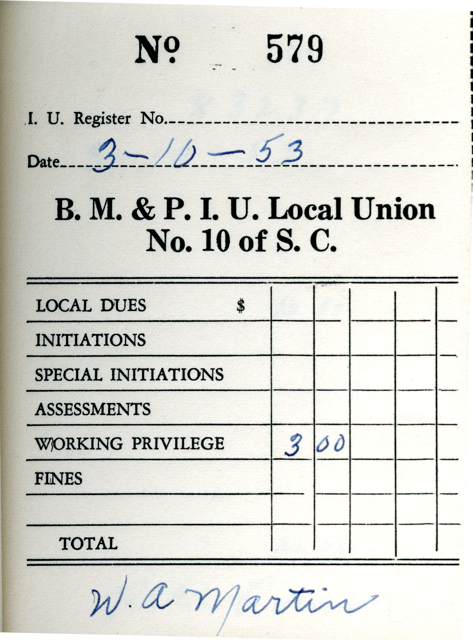 Receipt Book 1, Page 29