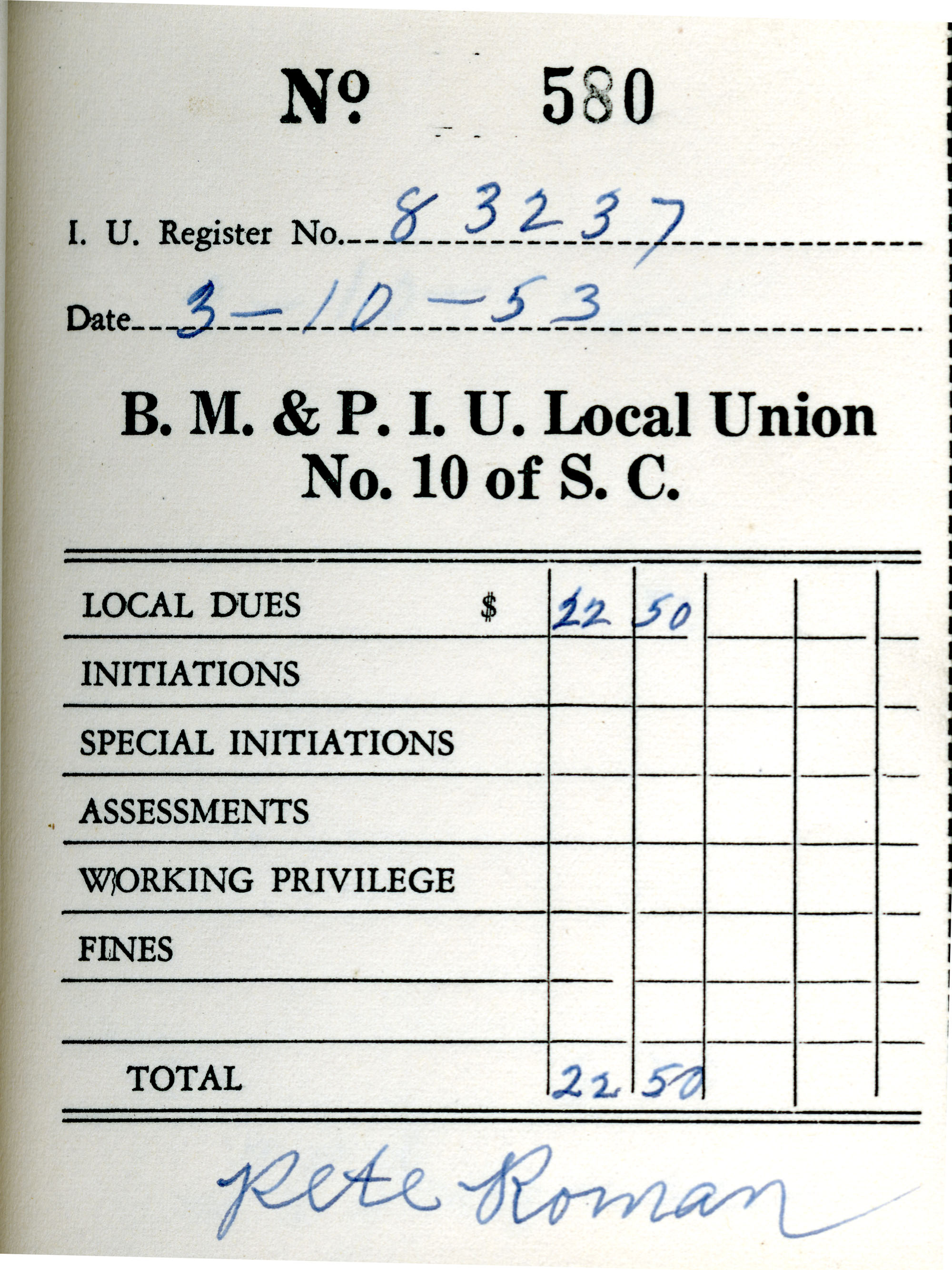 Receipt Book 1, Page 30