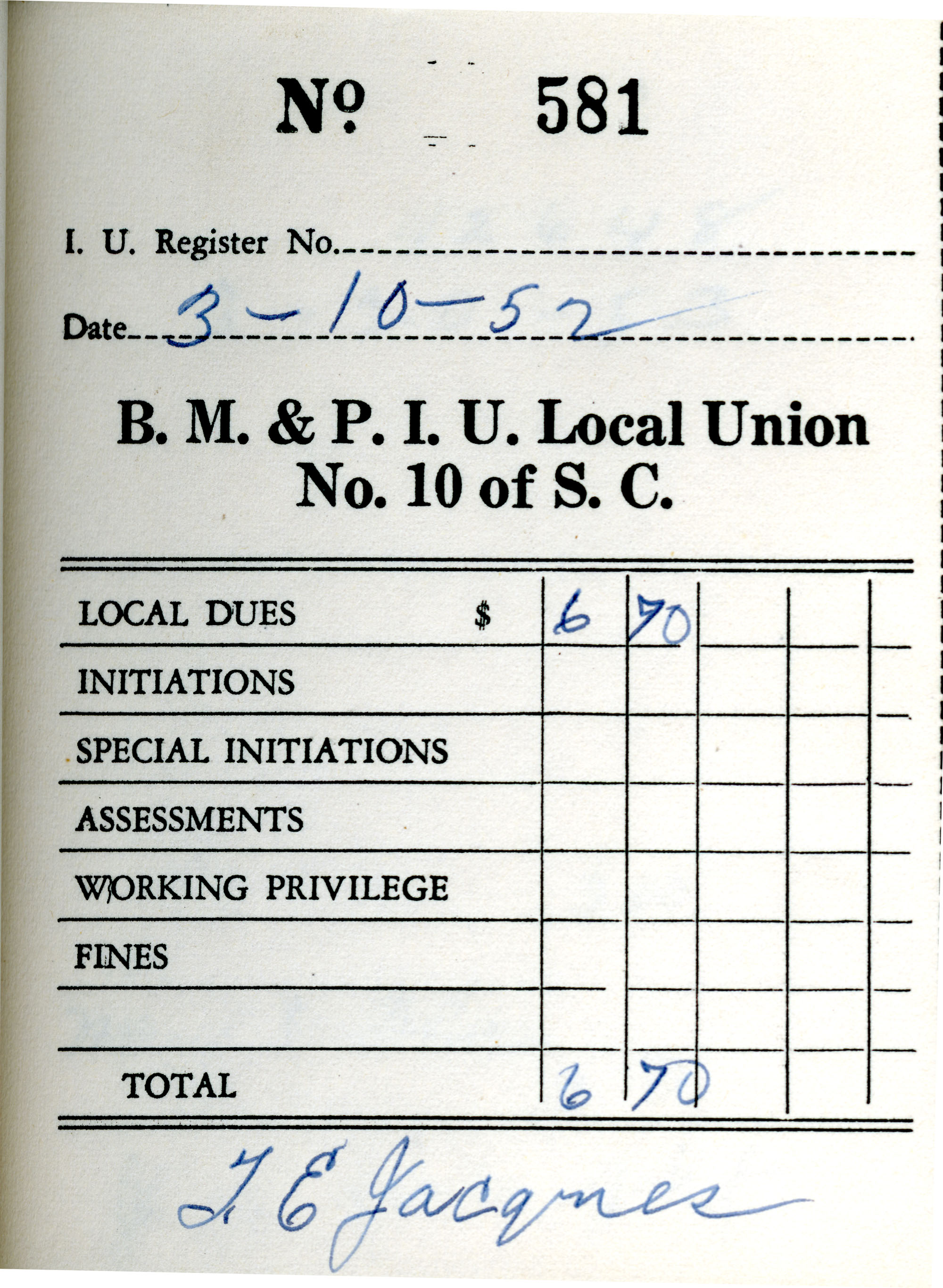 Receipt Book 1, Page 31