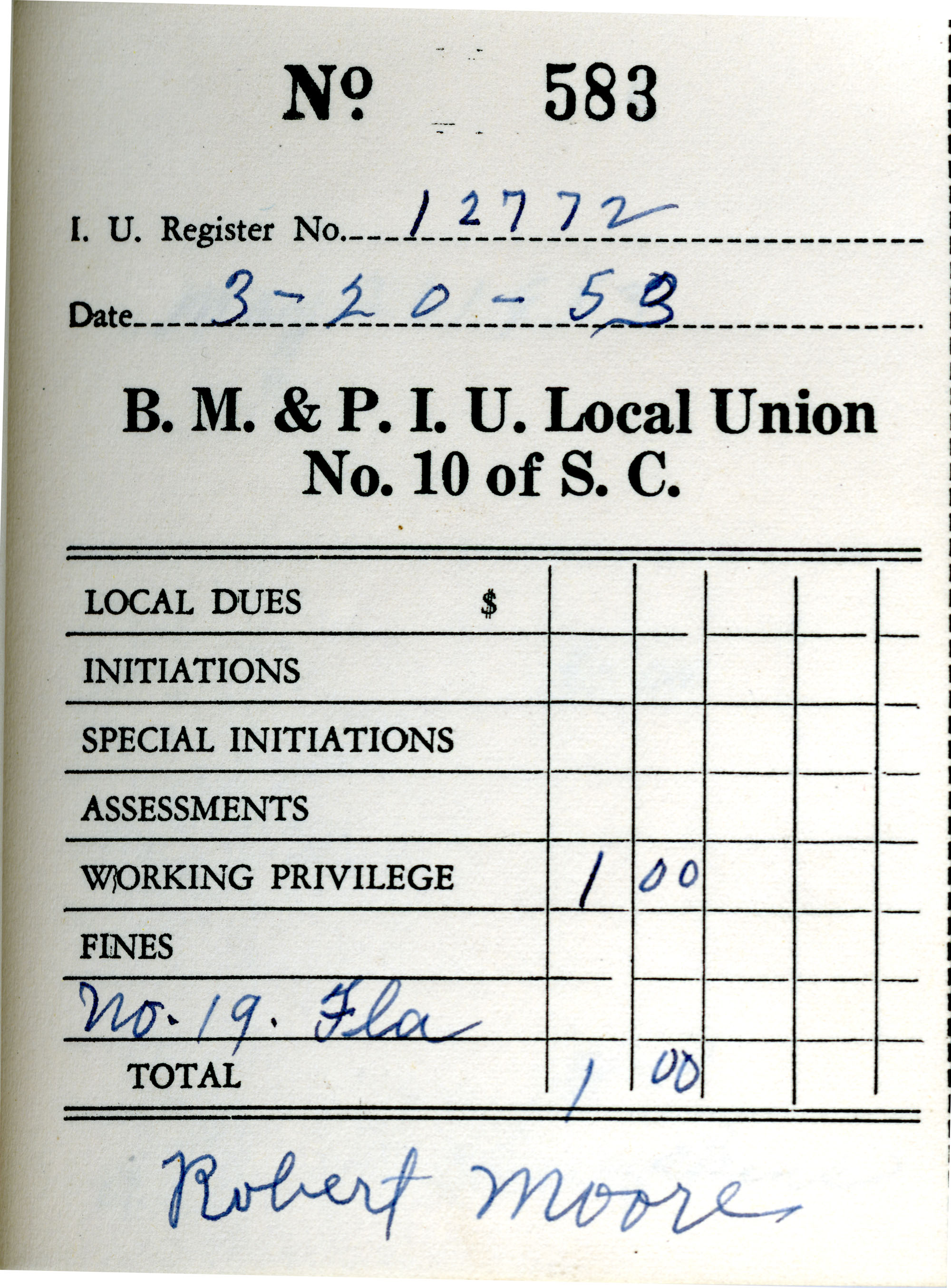 Receipt Book 1, Page 33