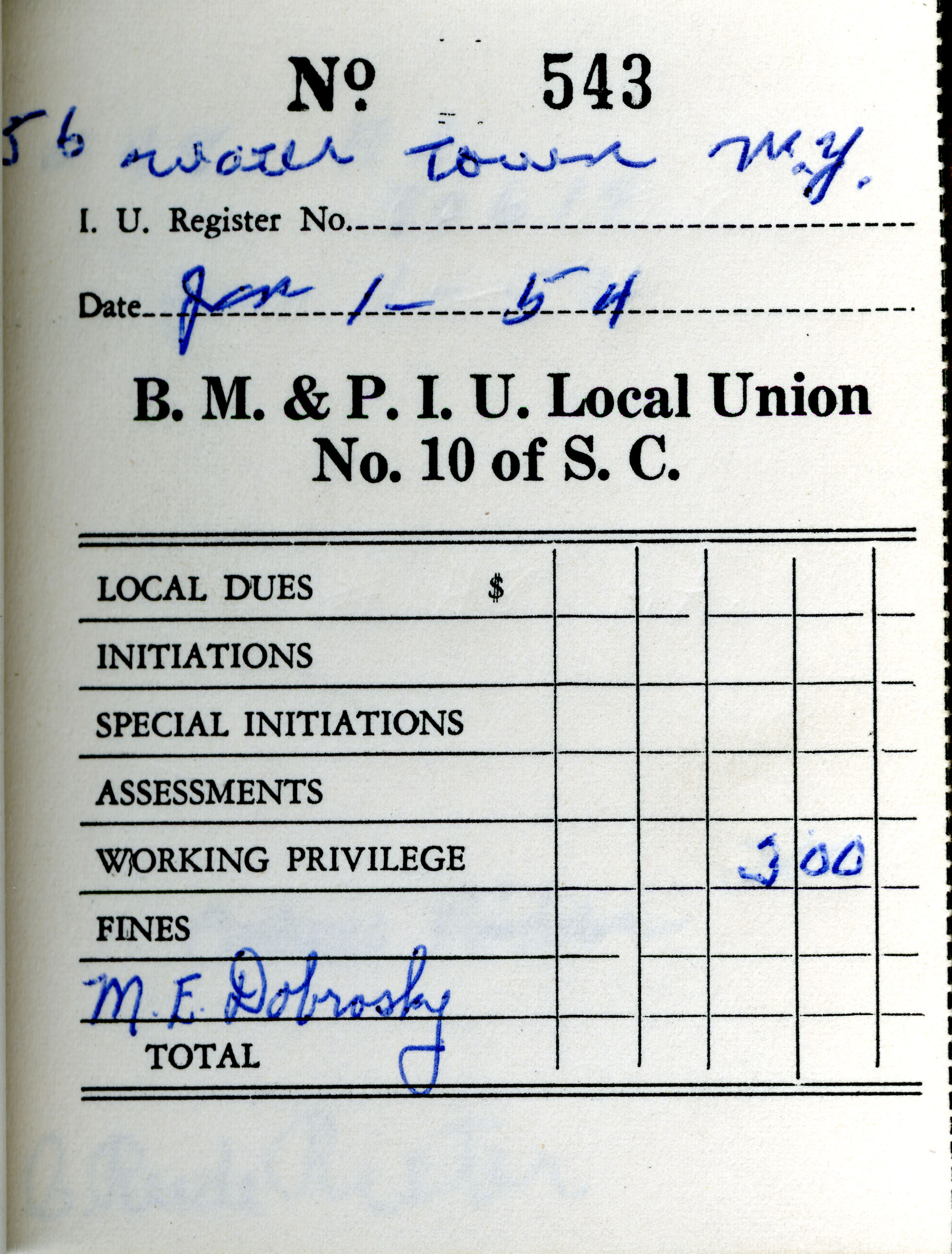 Receipt Book 2, Page 38