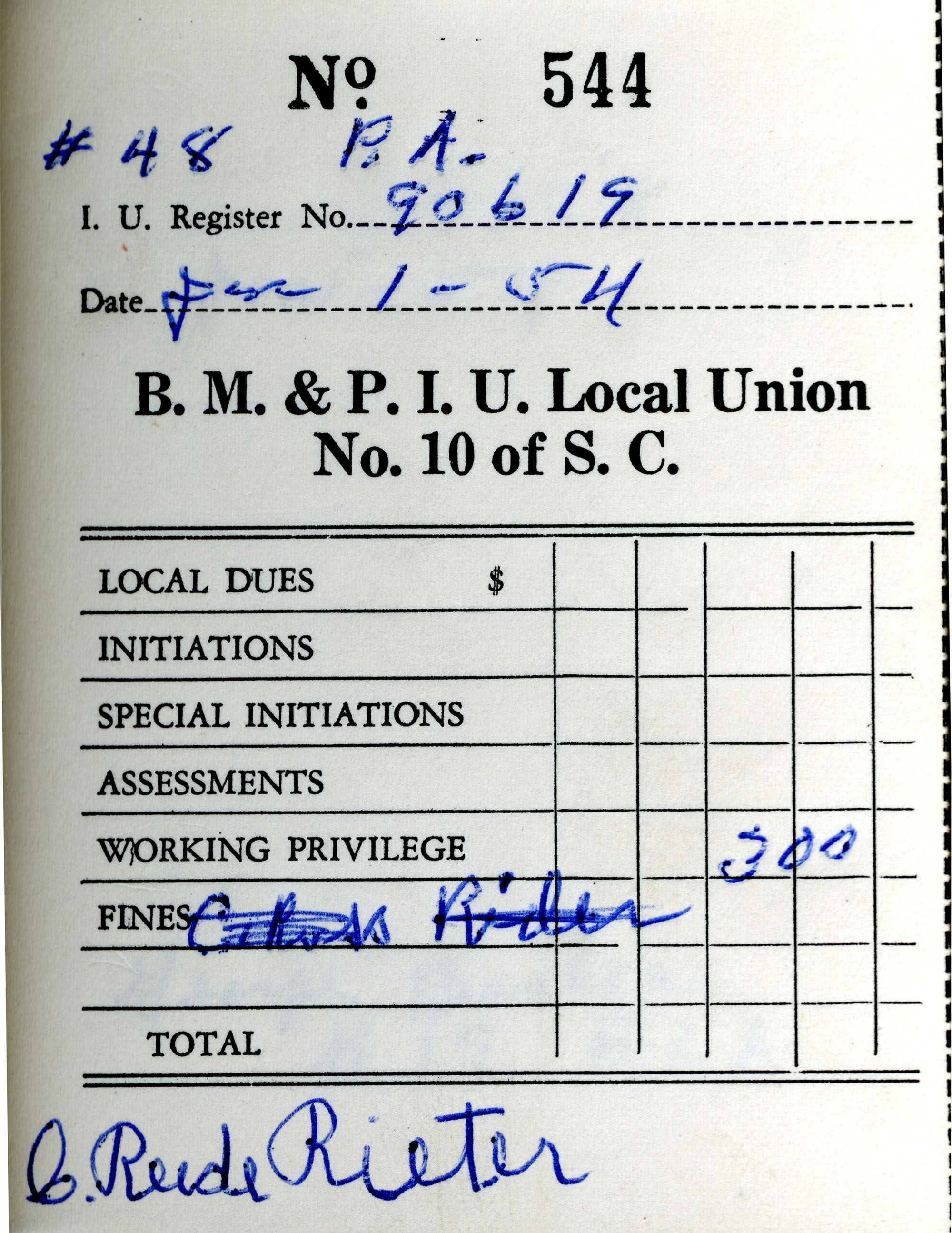 Receipt Book 2, Page 39