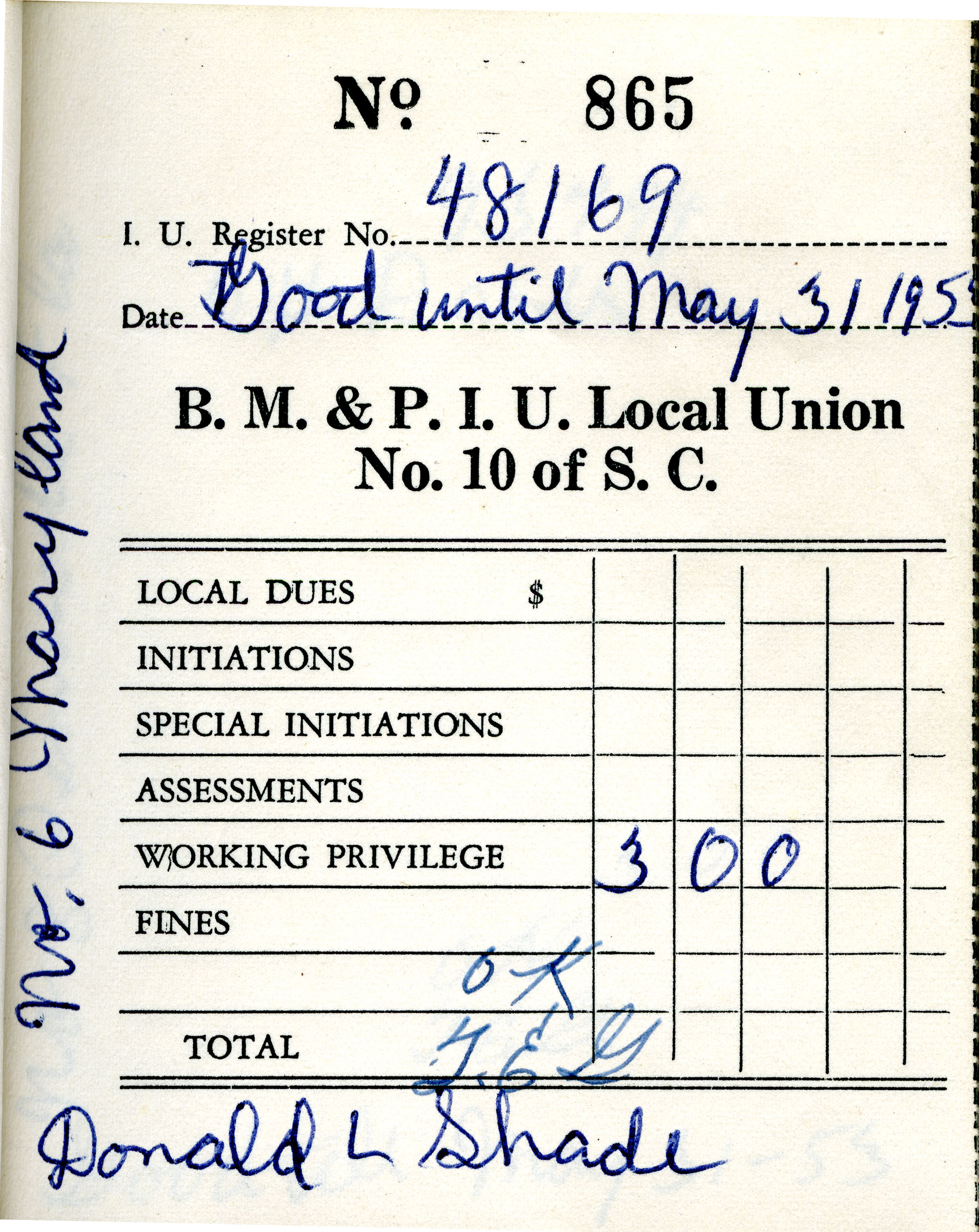 Receipt Book 3, Page 10