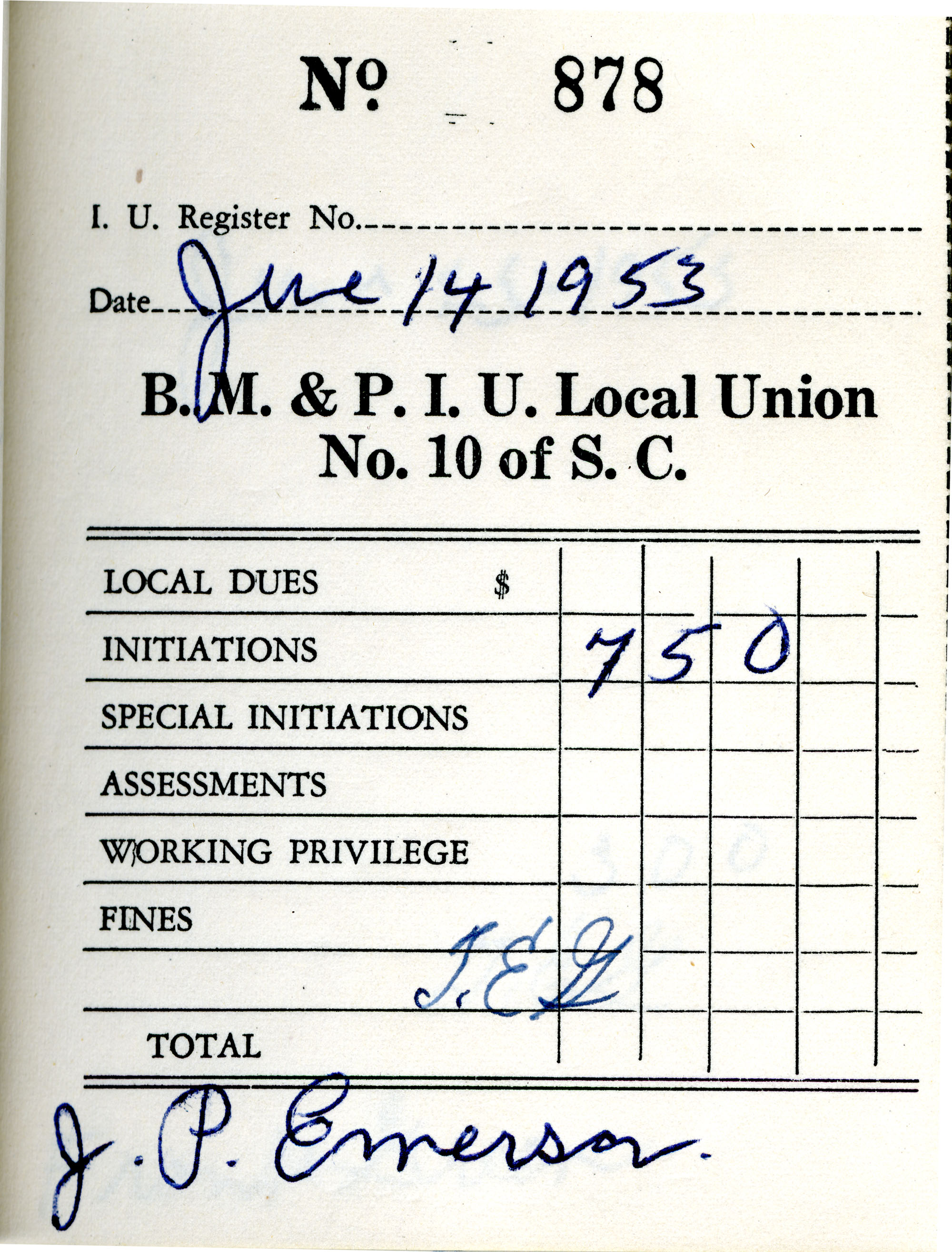 Receipt Book 3, Page 23