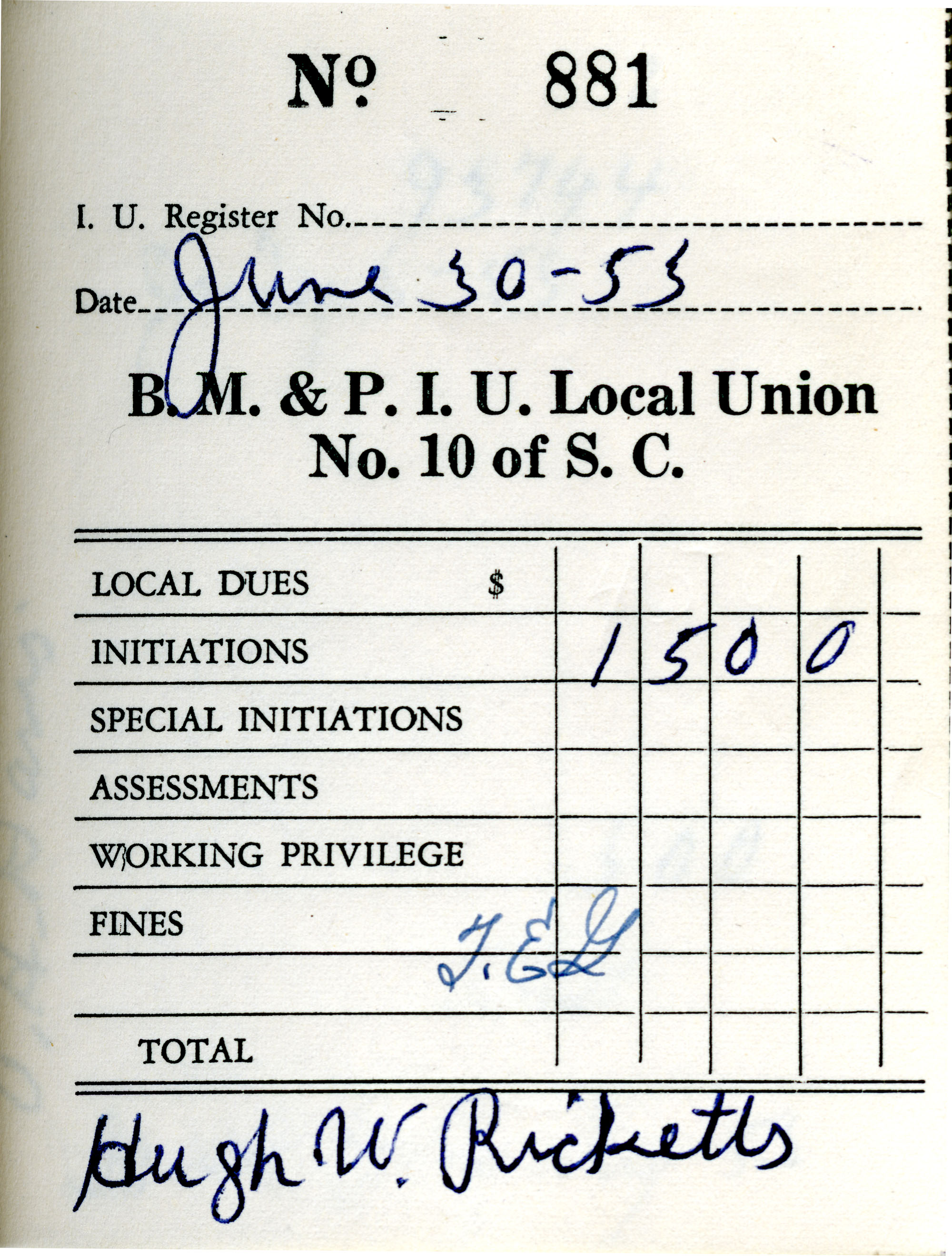 Receipt Book 3, Page 26