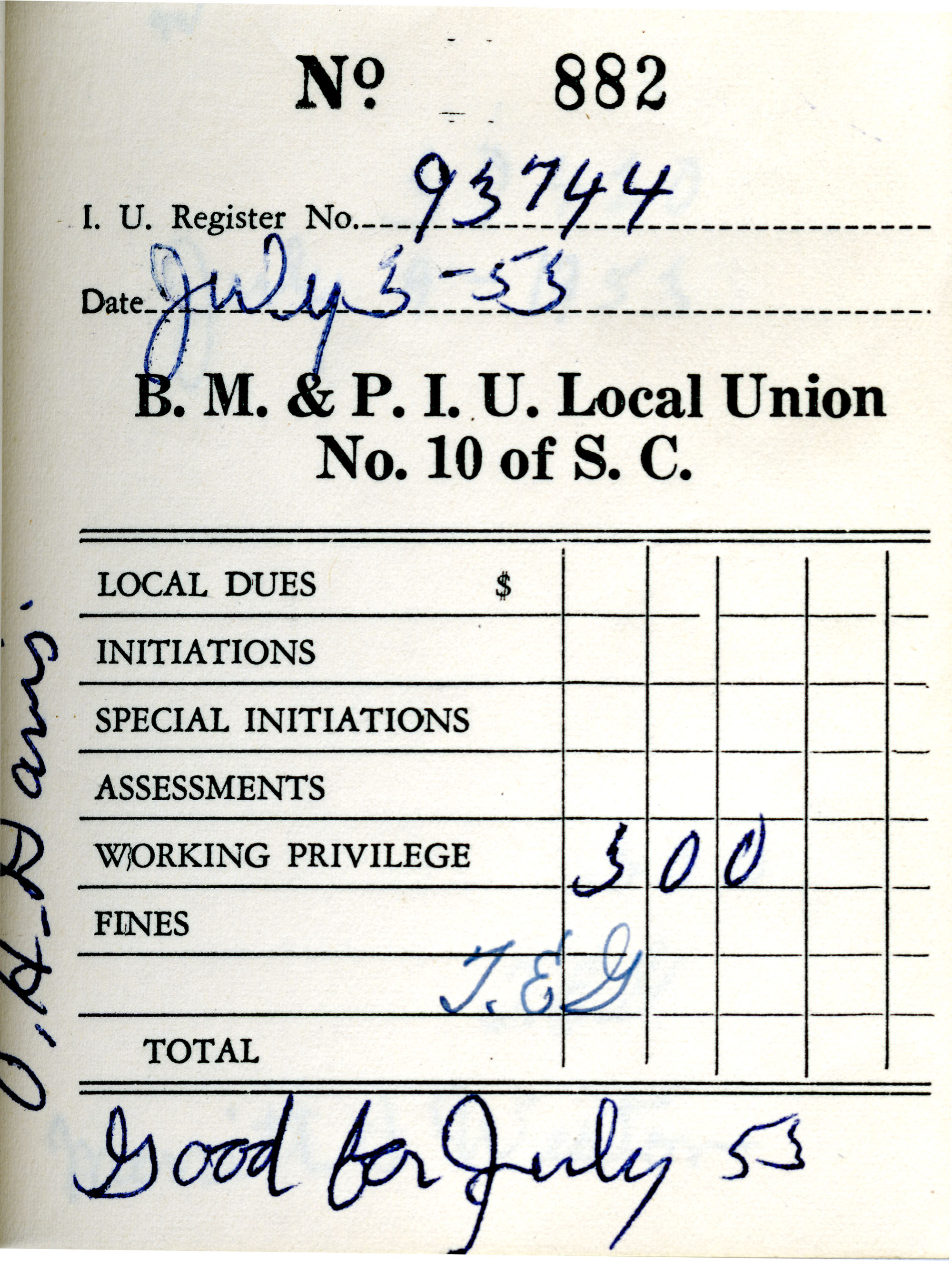 Receipt Book 3, Page 27