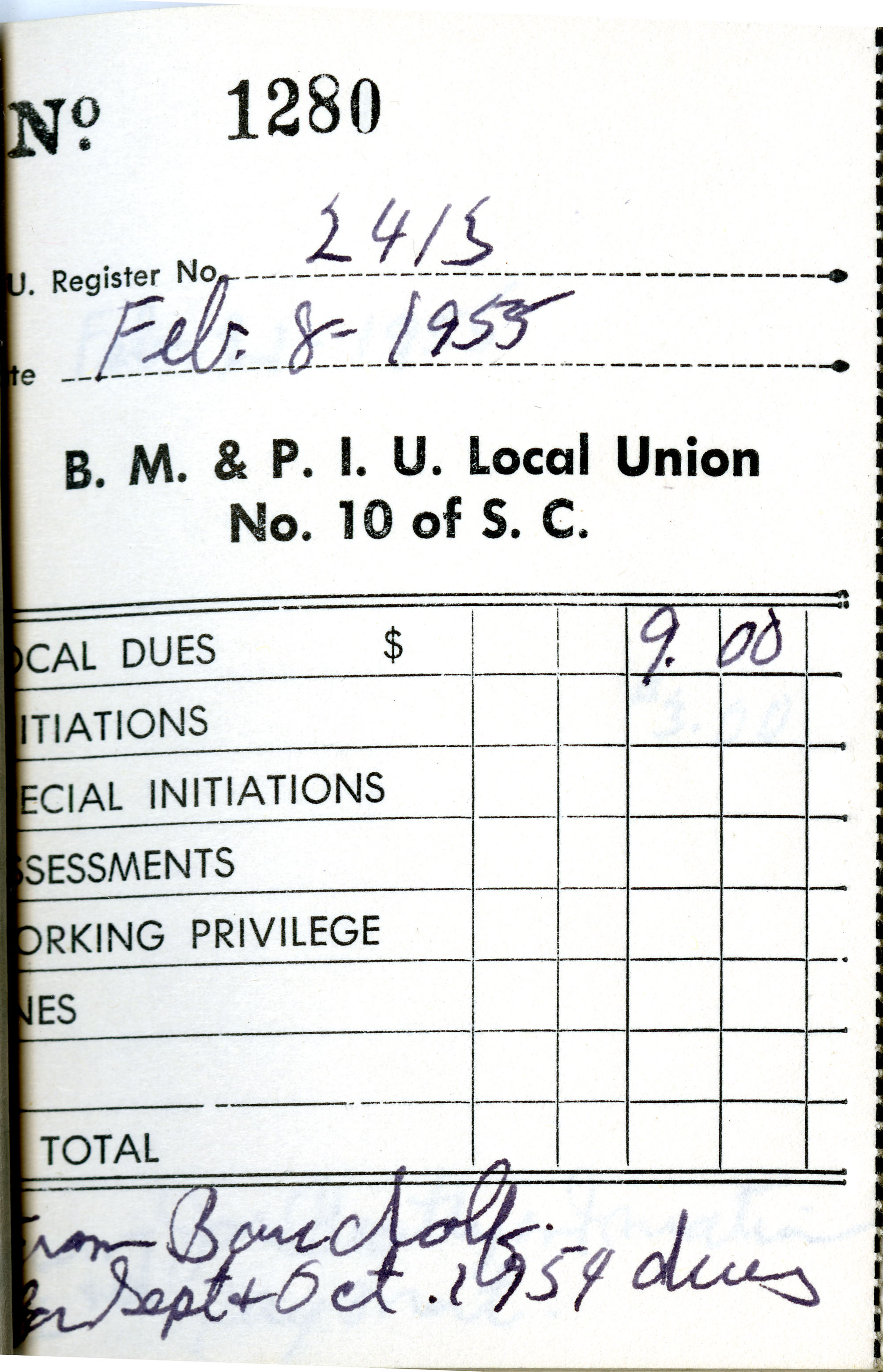 Receipt Book 4, Page 14