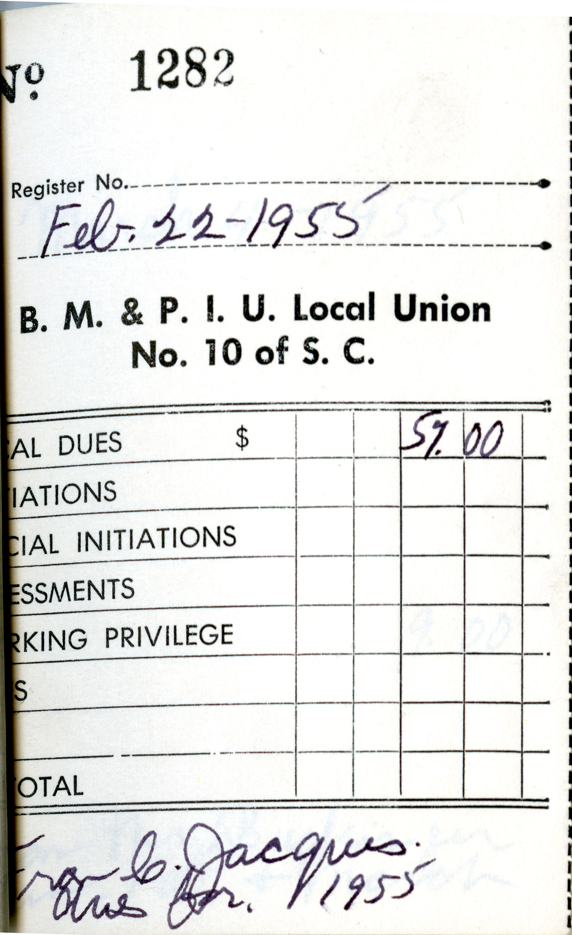 Receipt Book 4, Page 16
