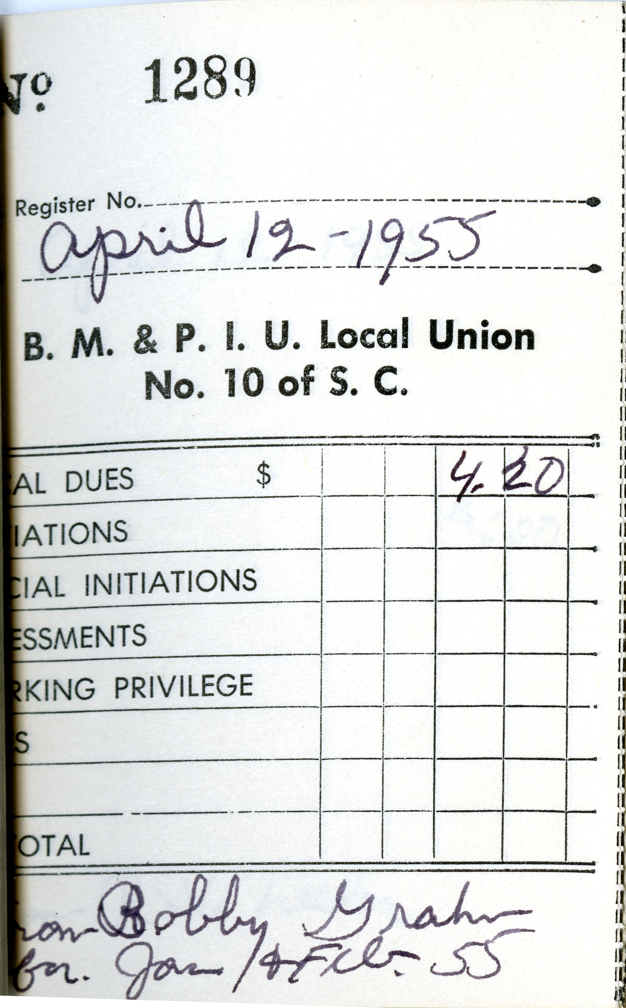 Receipt Book 4, Page 23