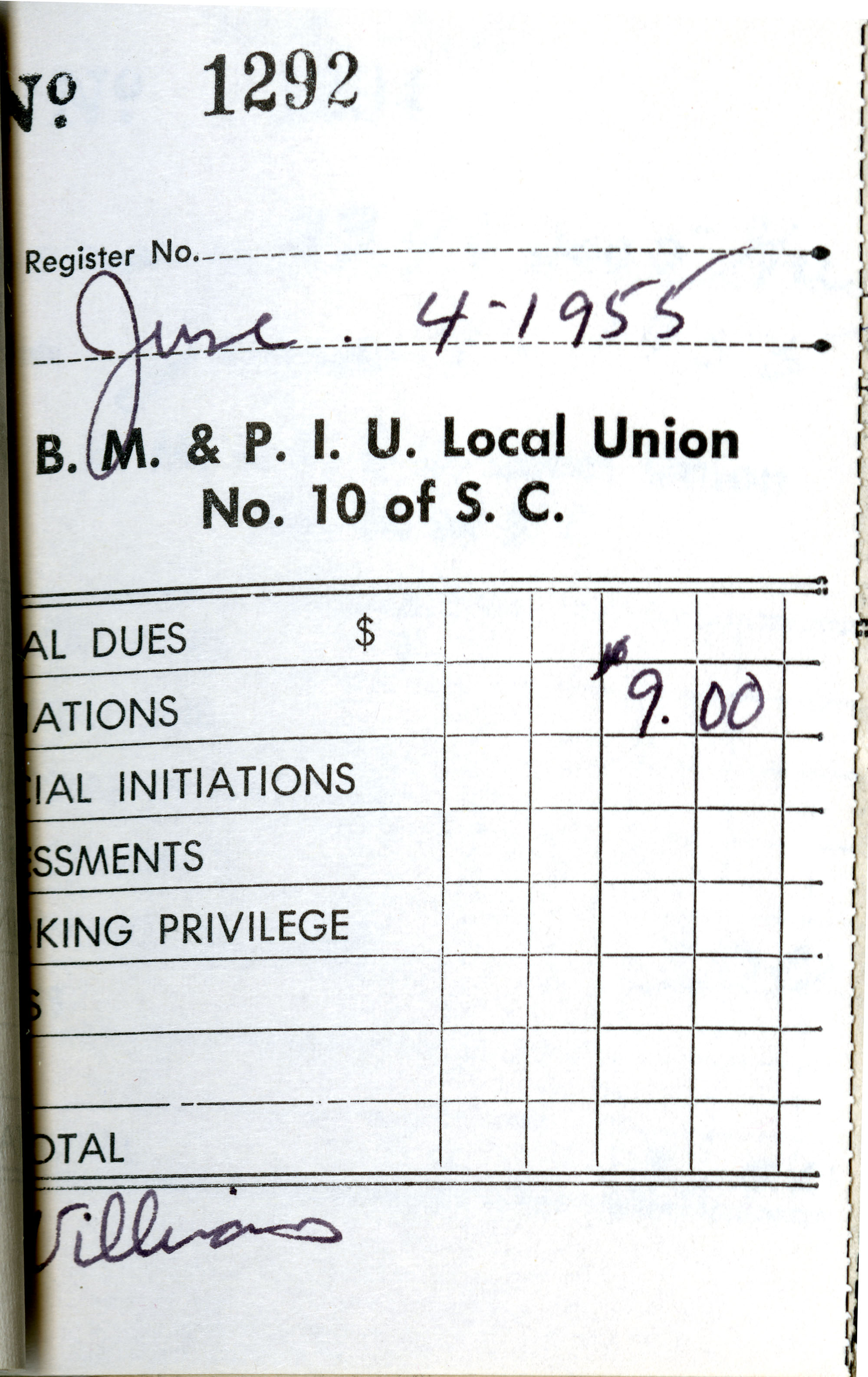 Receipt Book 4, Page 26