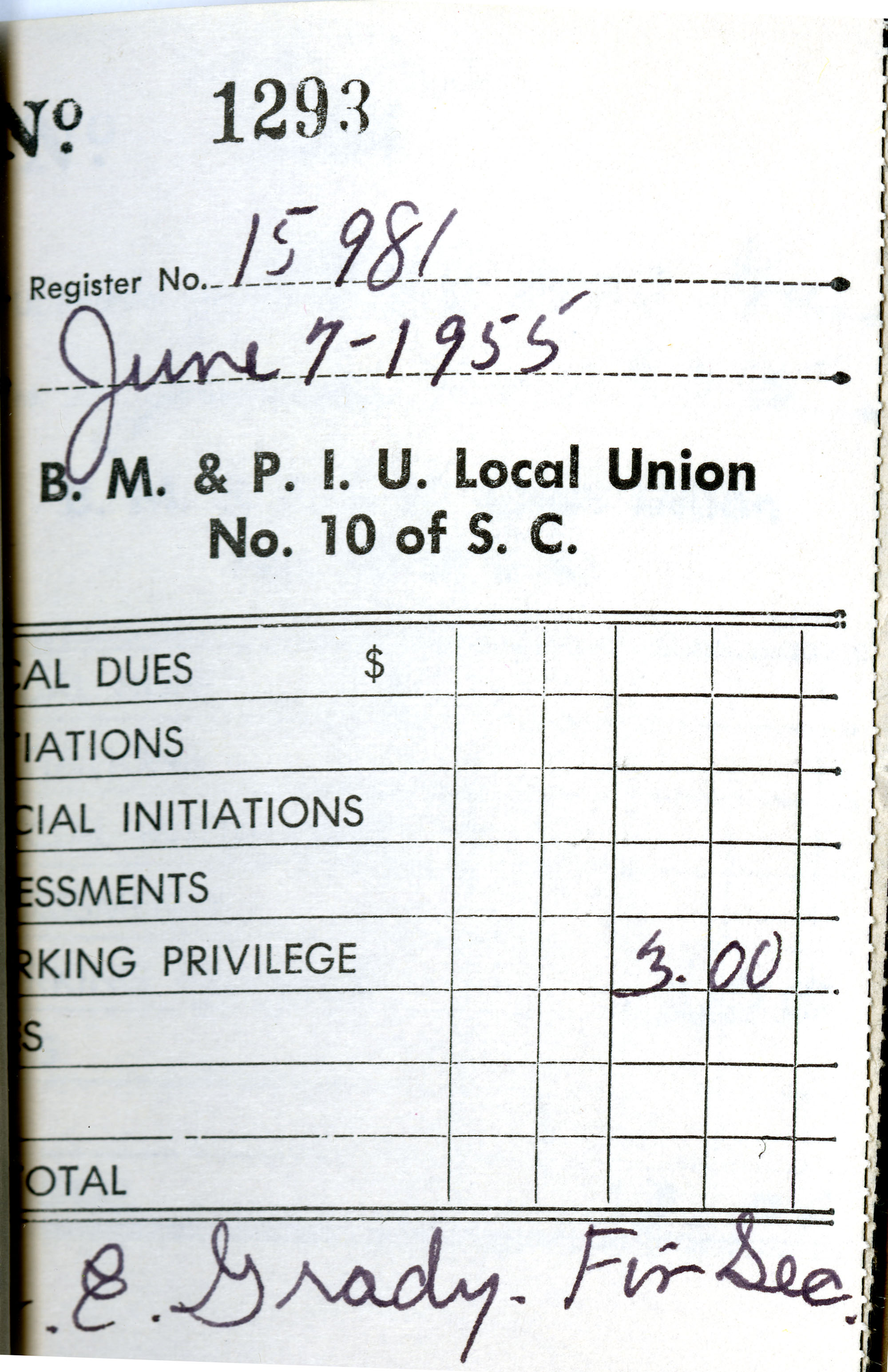 Receipt Book 4, Page 27