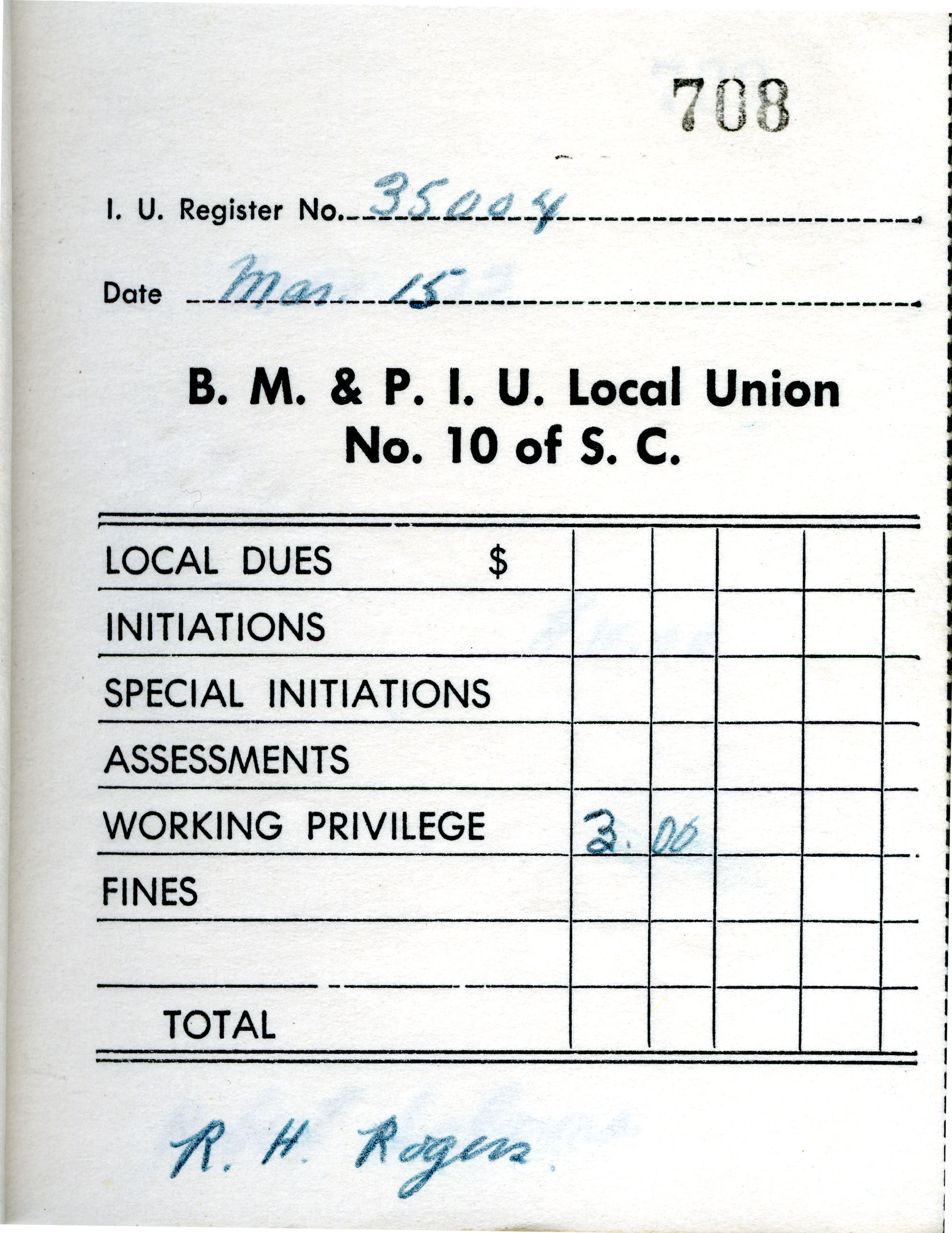 Receipt Book 5, Page 8
