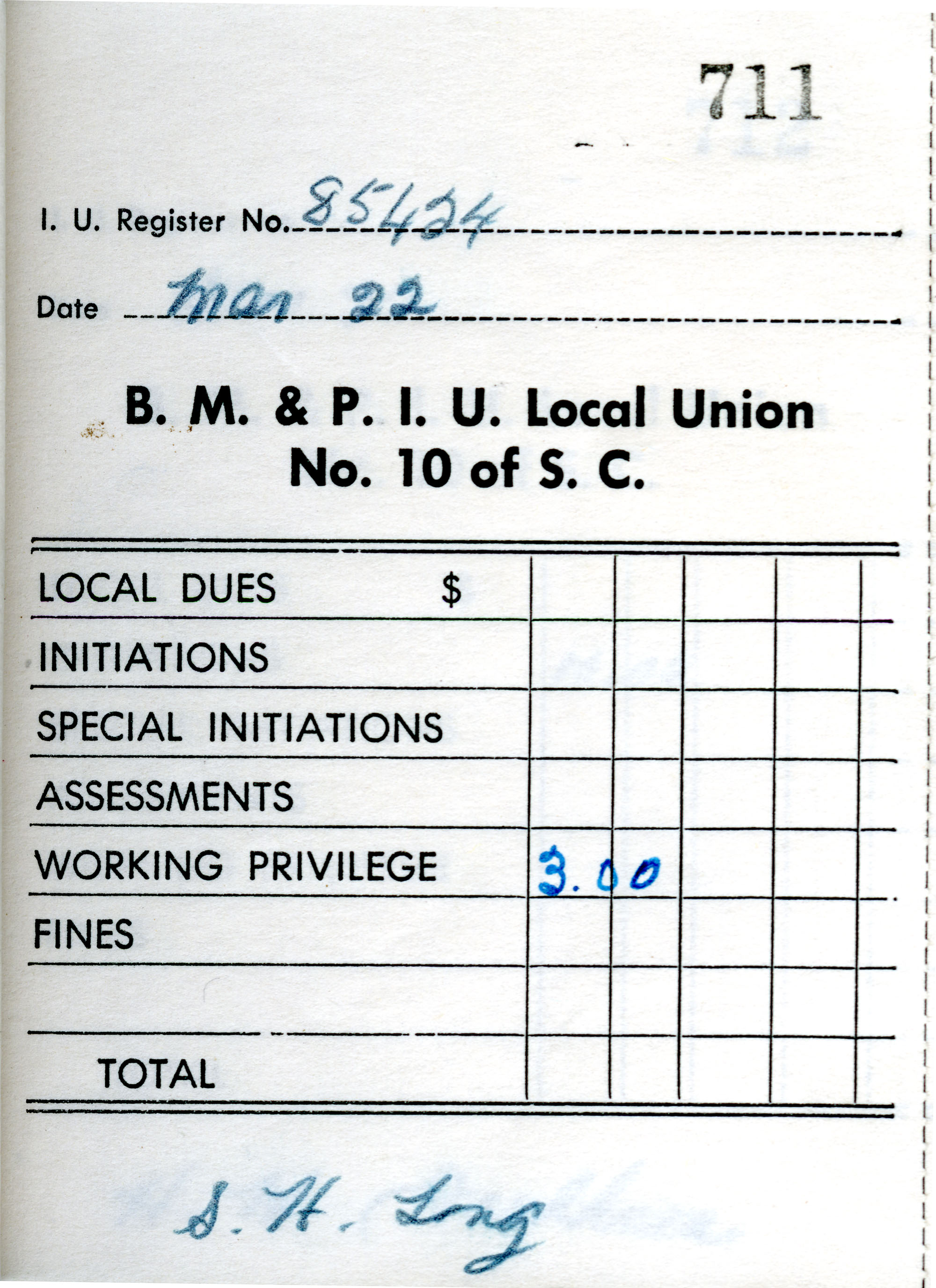 Receipt Book 5, Page 11