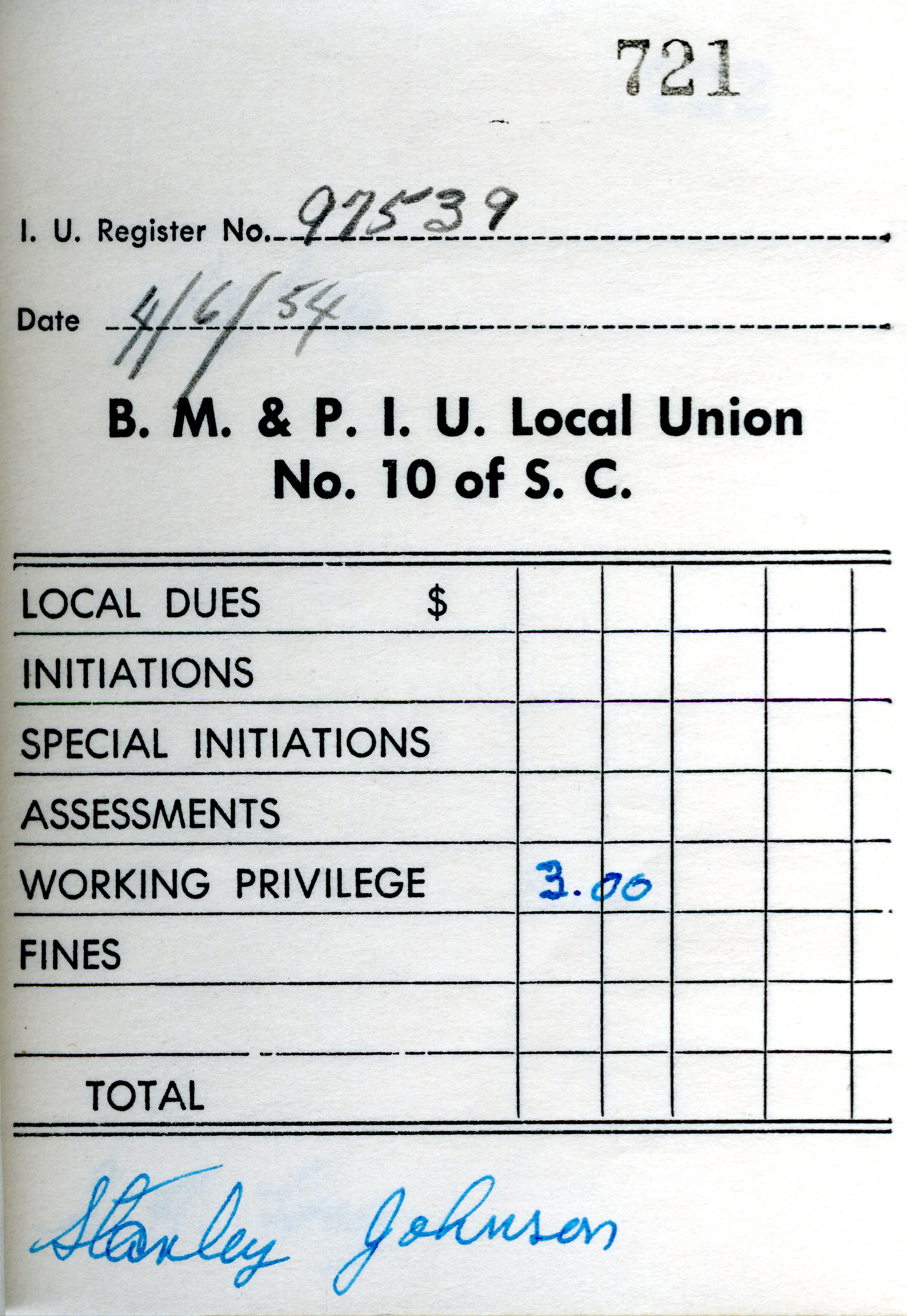 Receipt Book 5, Page 21