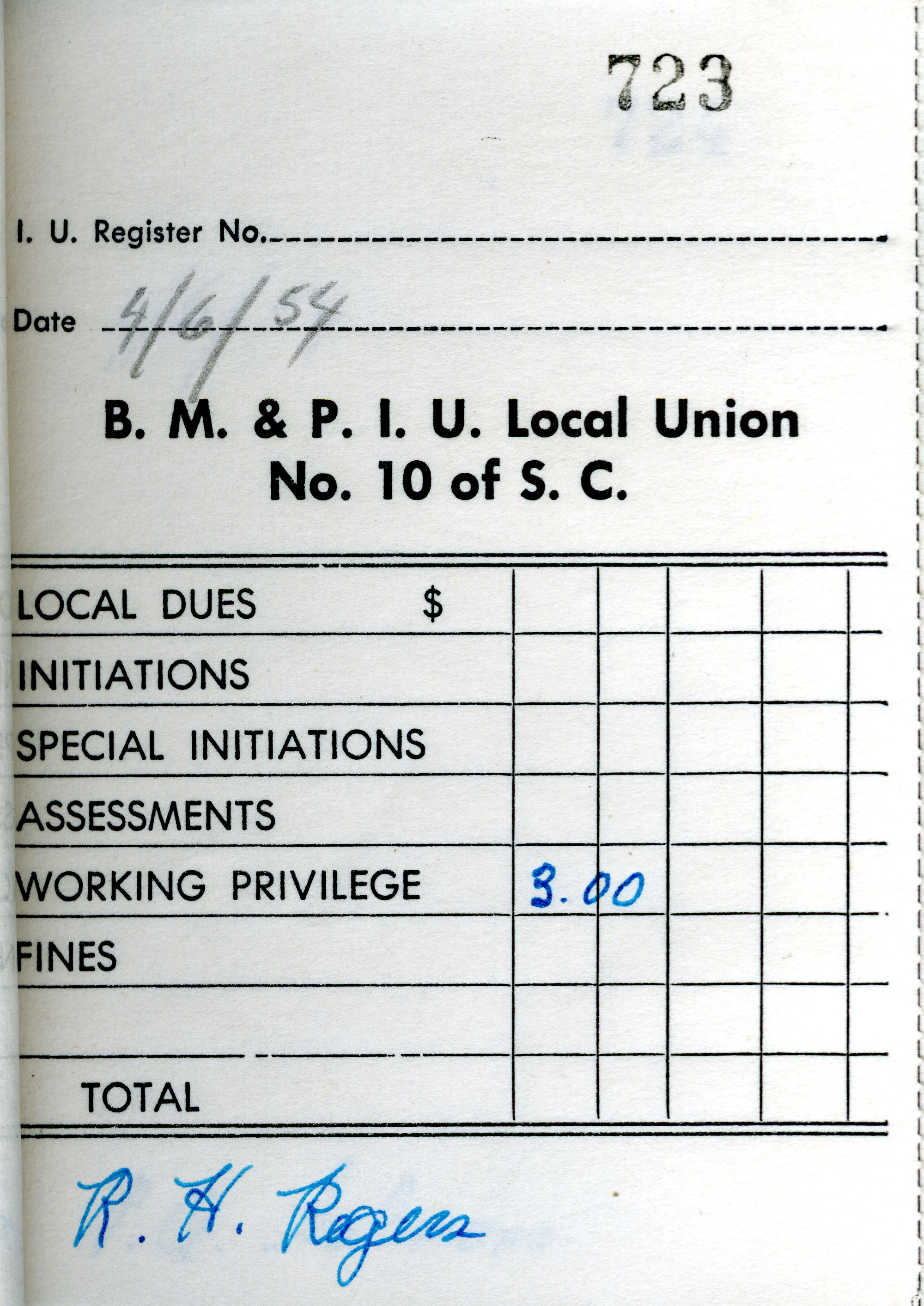 Receipt Book 5, Page 23