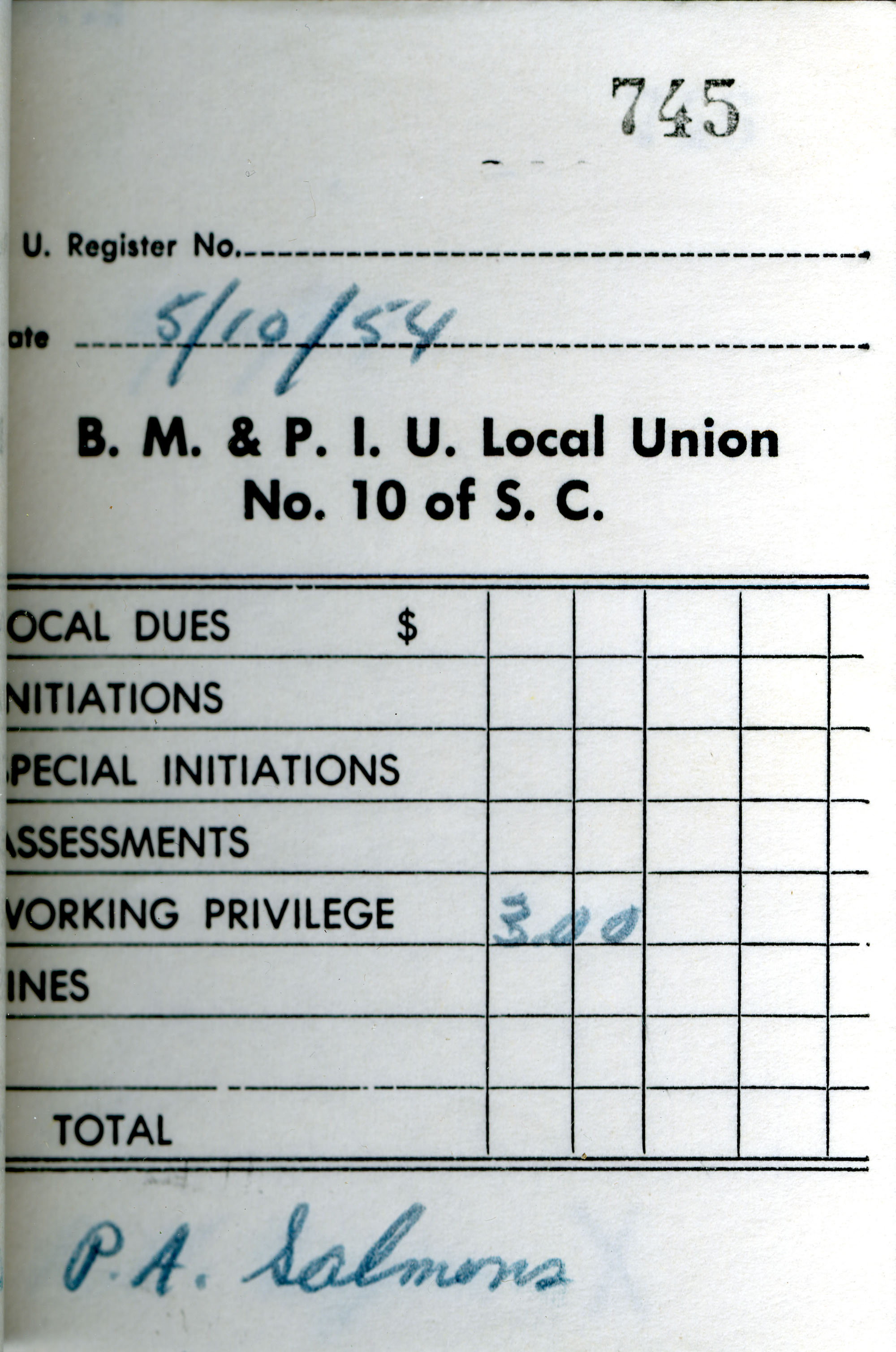 Receipt Book 5, Page 45
