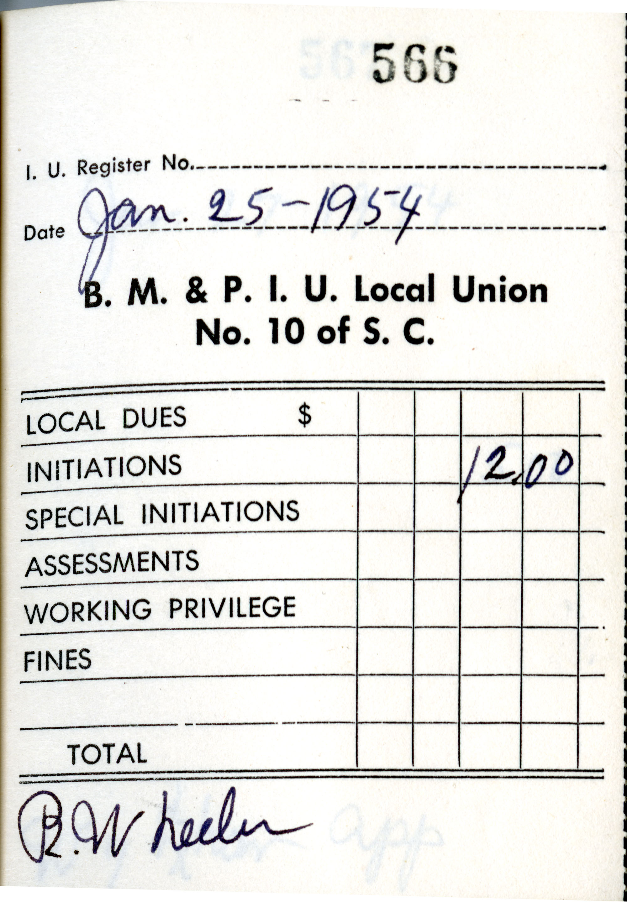 Receipt Book 6, Page 17