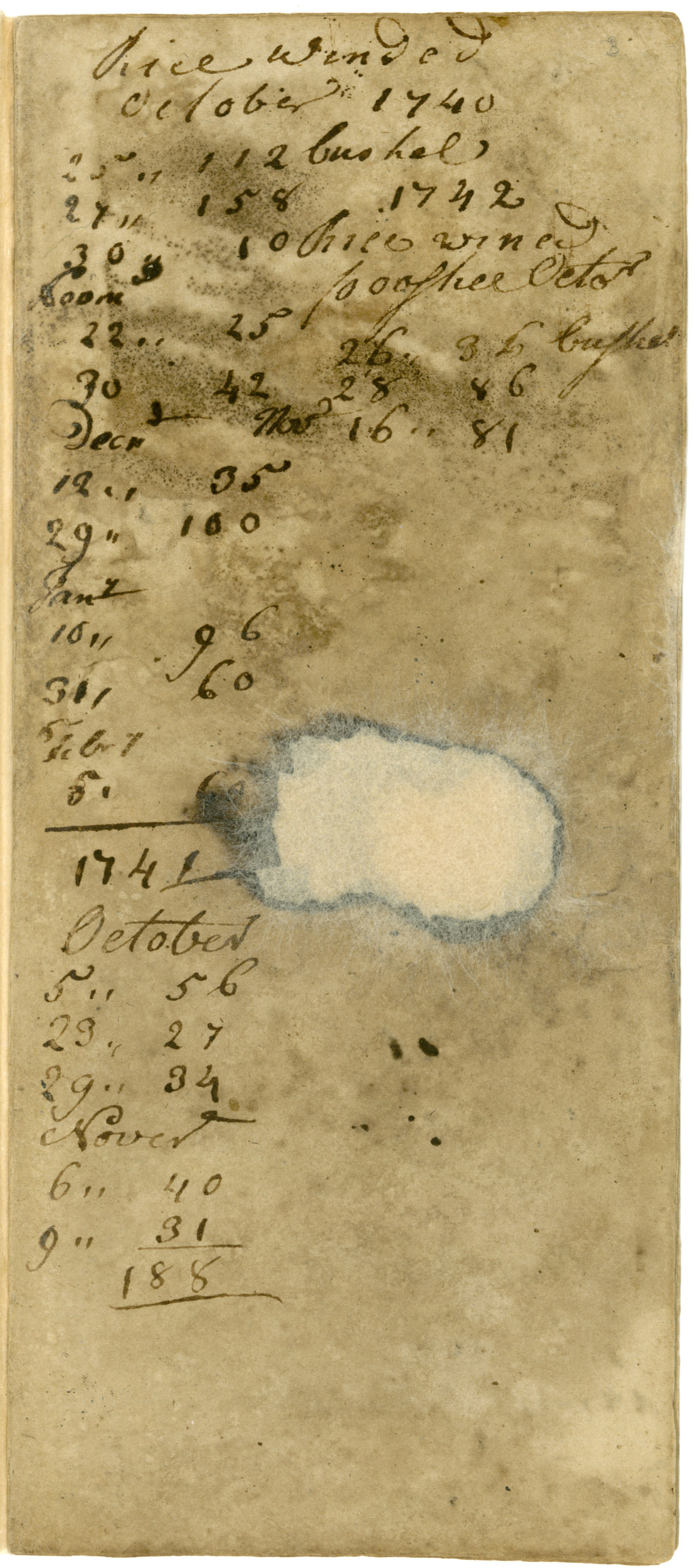 Ravenel Diary 1731-1860, page 2