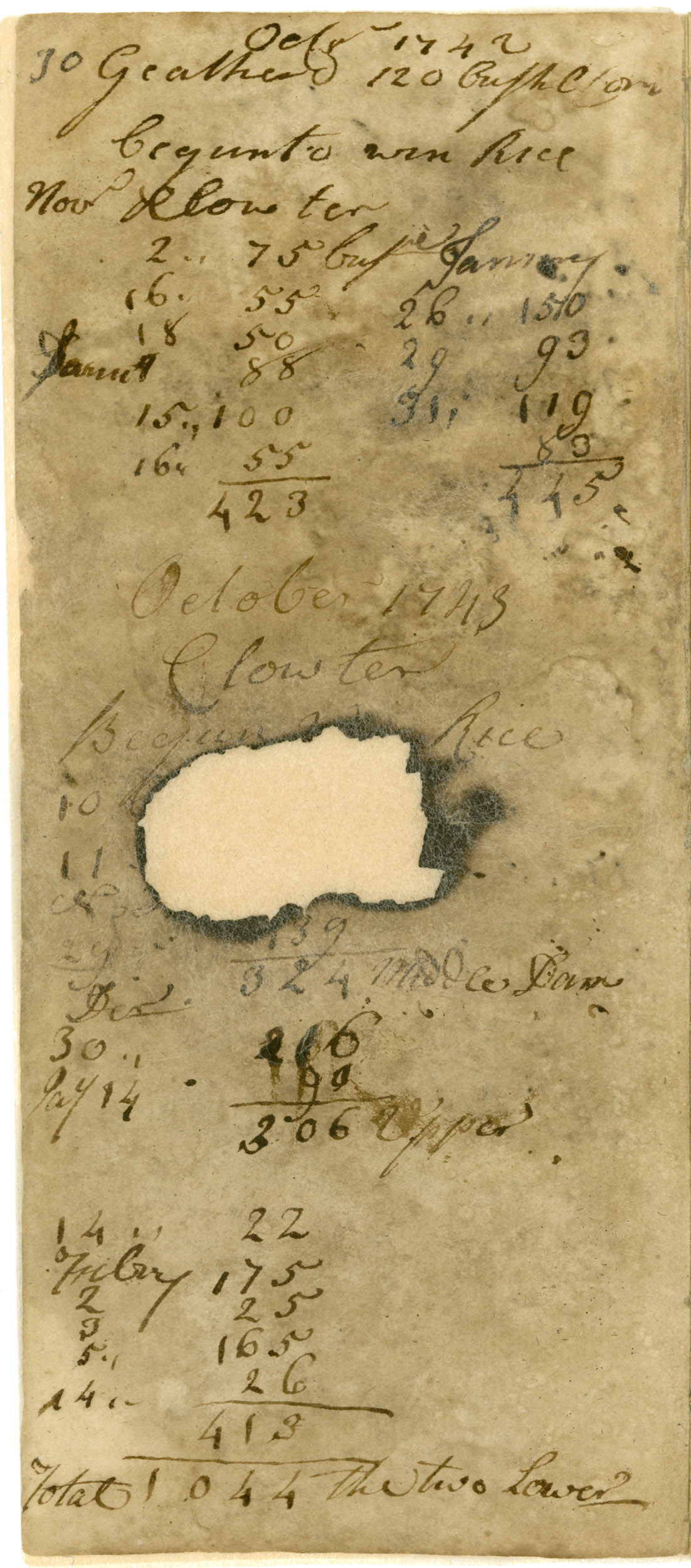 Ravenel Diary 1731-1860, page 3