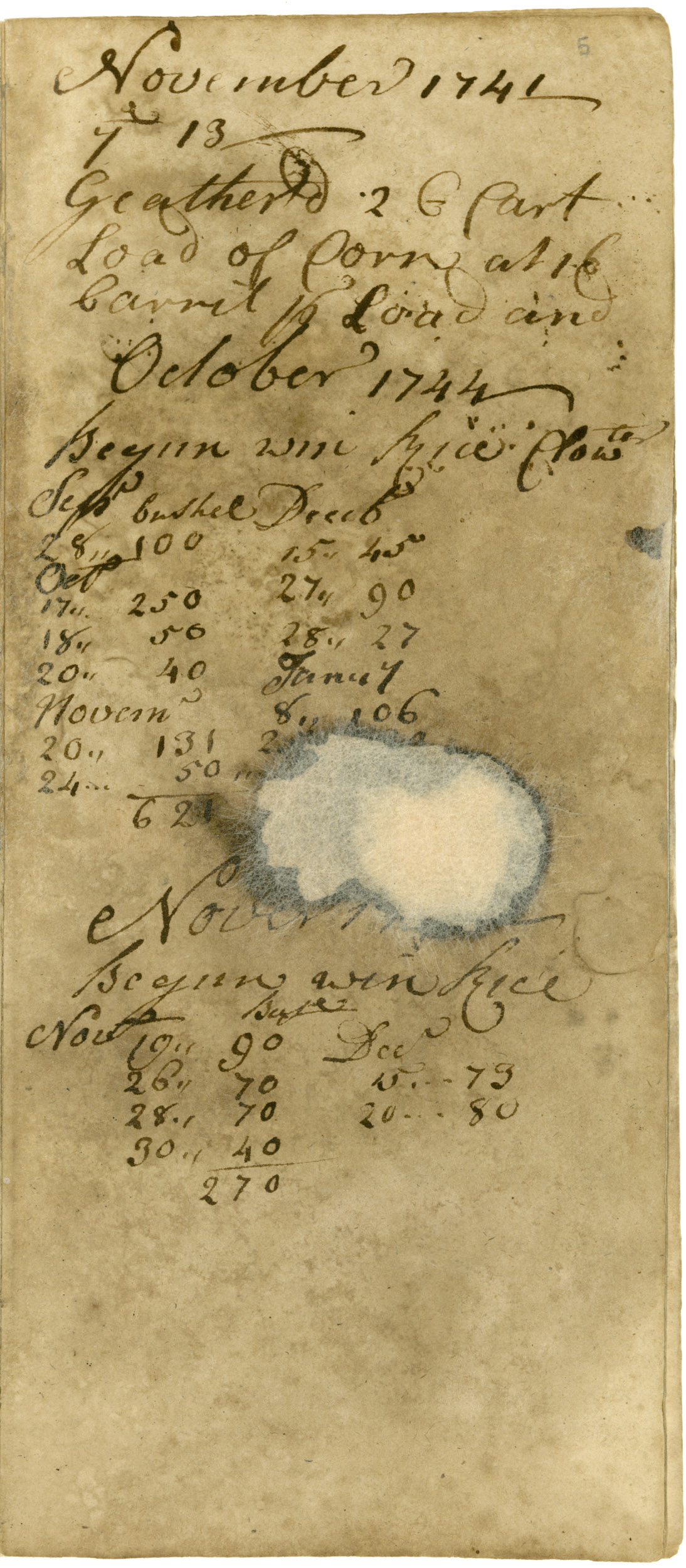 Ravenel Diary 1731-1860, page 4