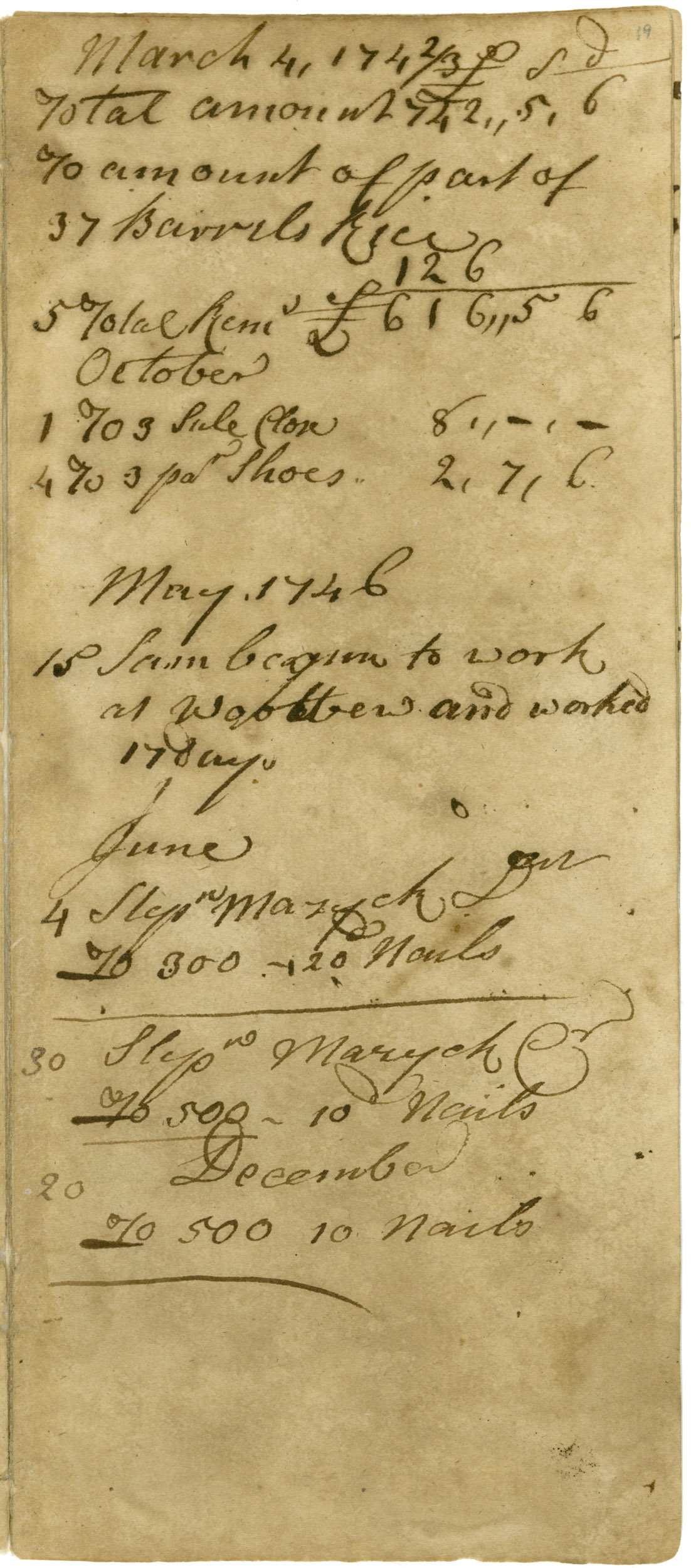 Ravenel Diary 1731-1860, page 12