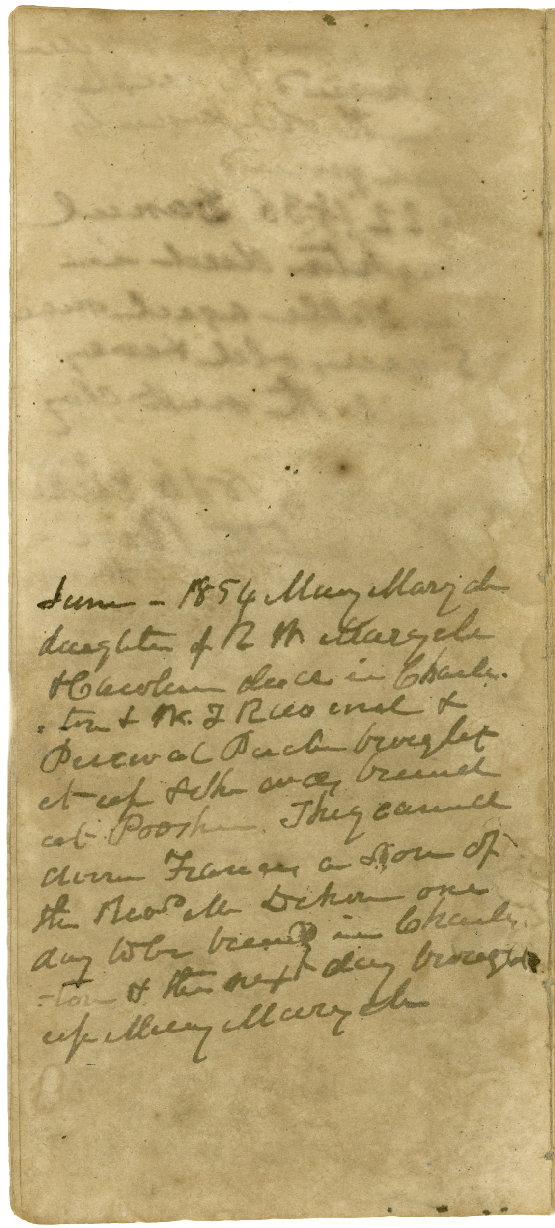Ravenel Diary 1731-1860, page 55