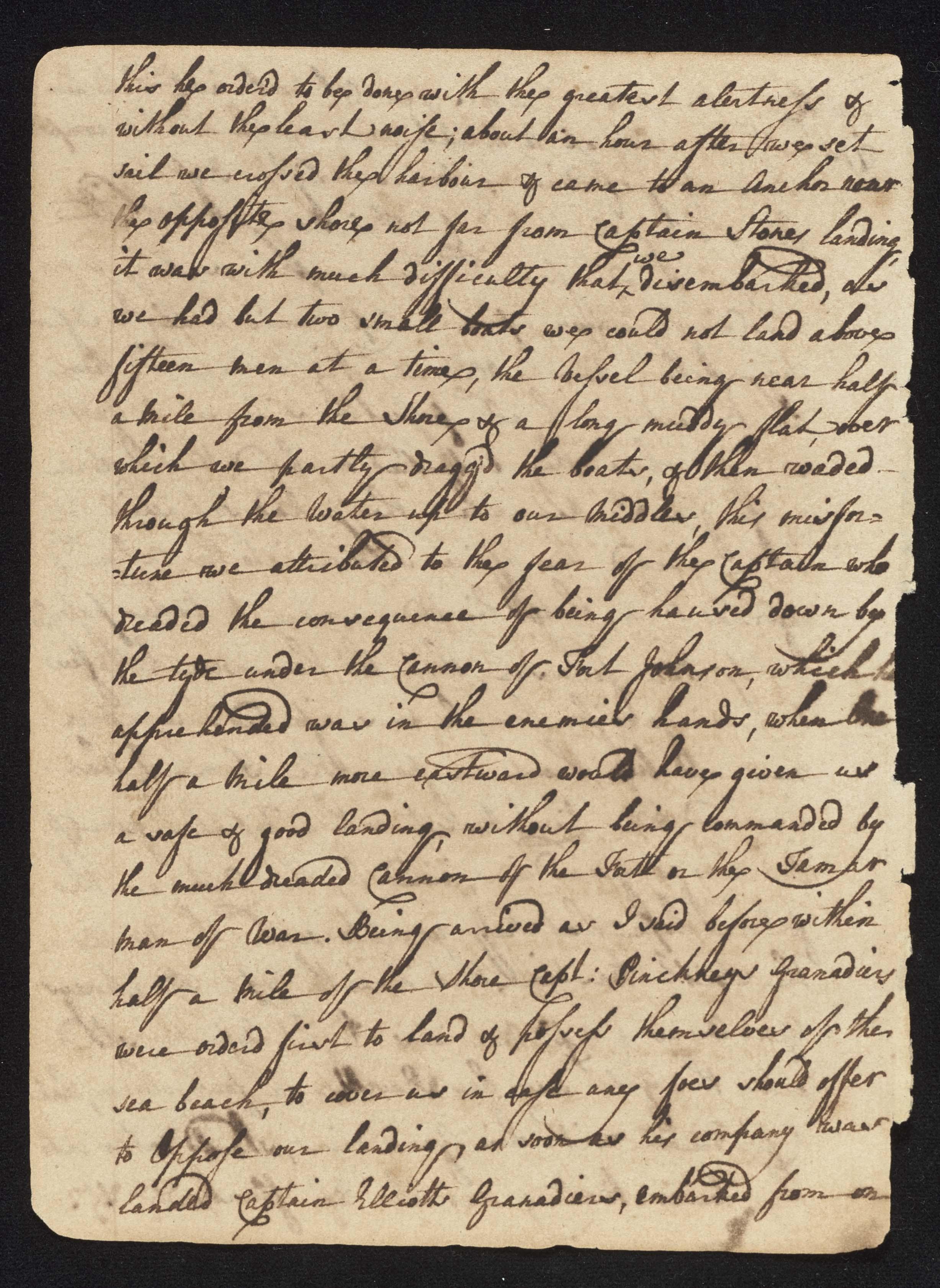 South Carolina Regiment Order Book, Page 14