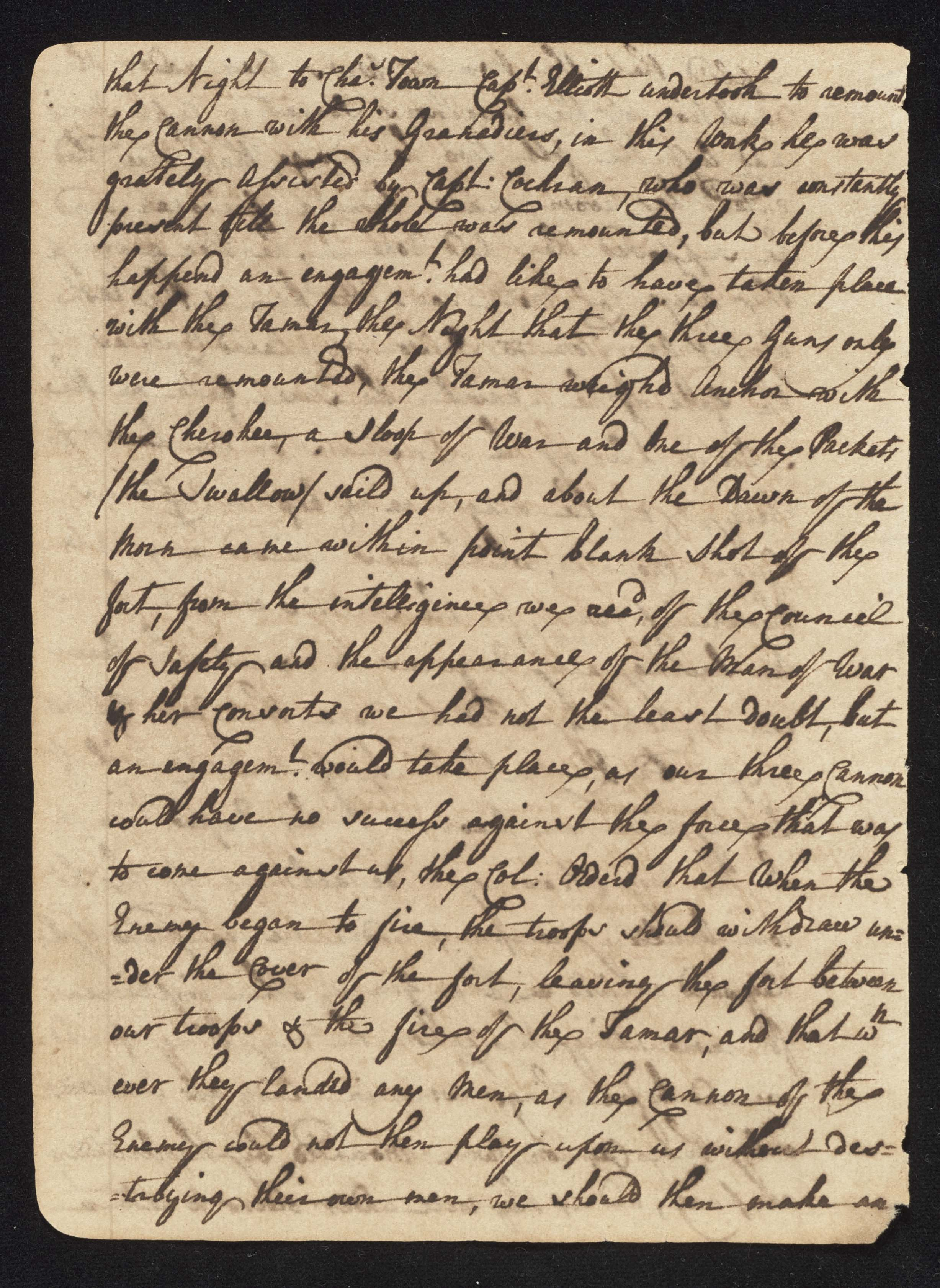 South Carolina Regiment Order Book, Page 18